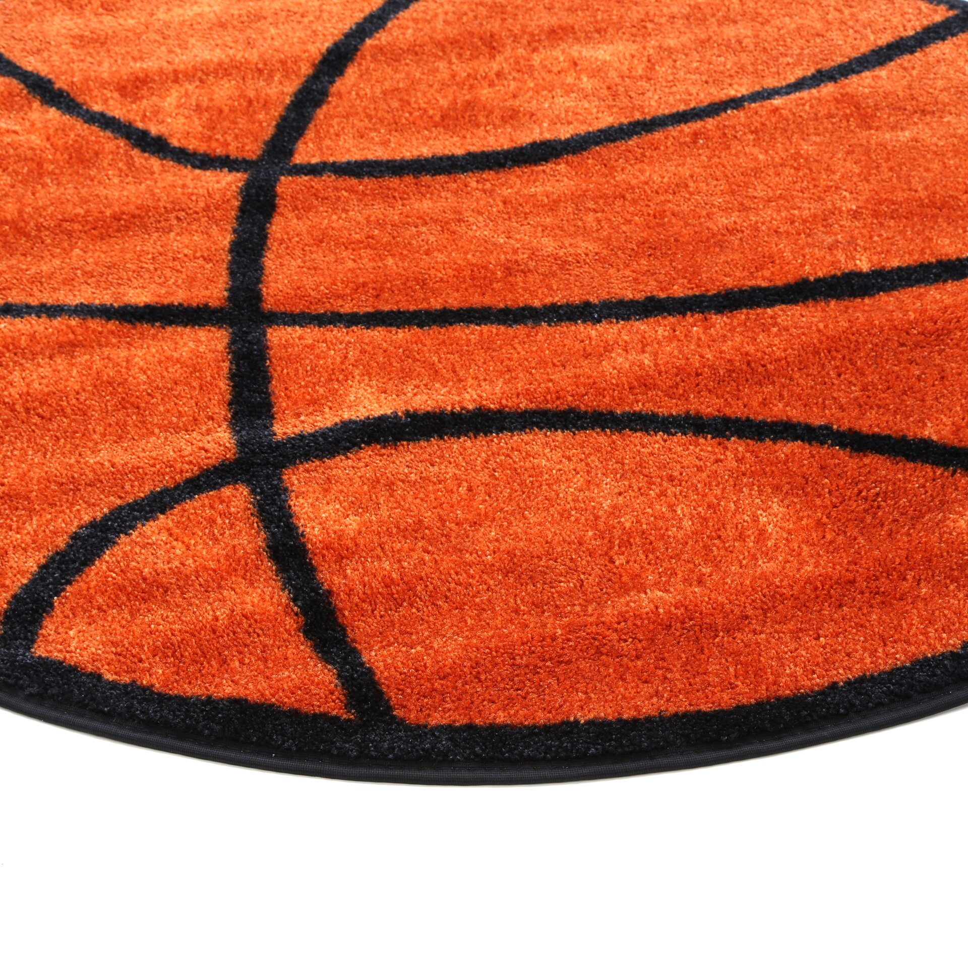Fun Rugs Fun Shape Basketball Area Rug & Reviews