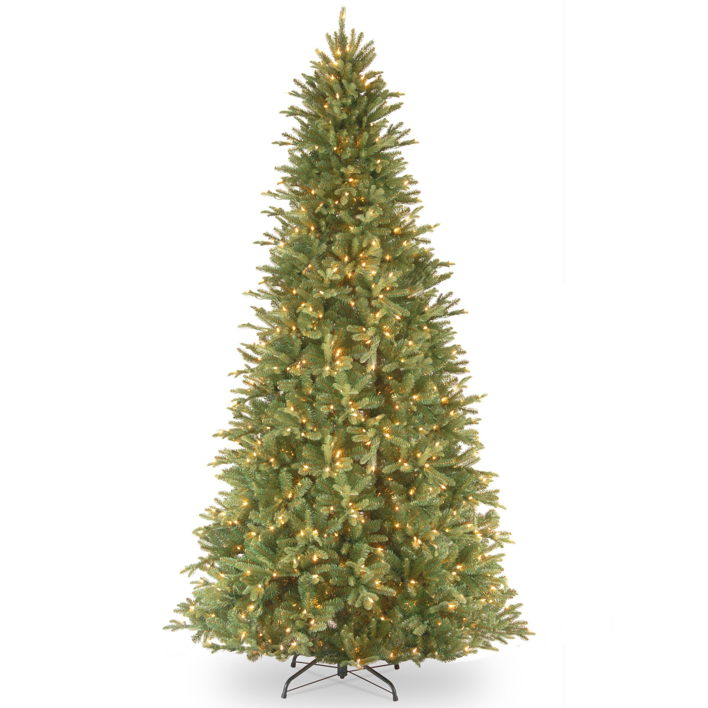 Discount Pre Lit 12 Christmas Tree: National Tree Co. Tiffany Fir 12' Green Artificial