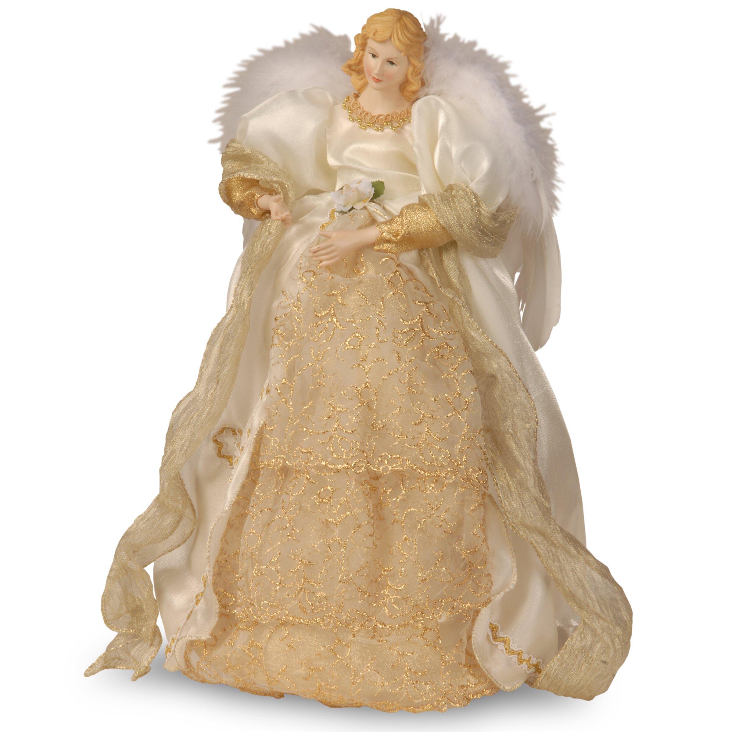 Fabric d cor angel christmas decoration wayfair for Angel decoration