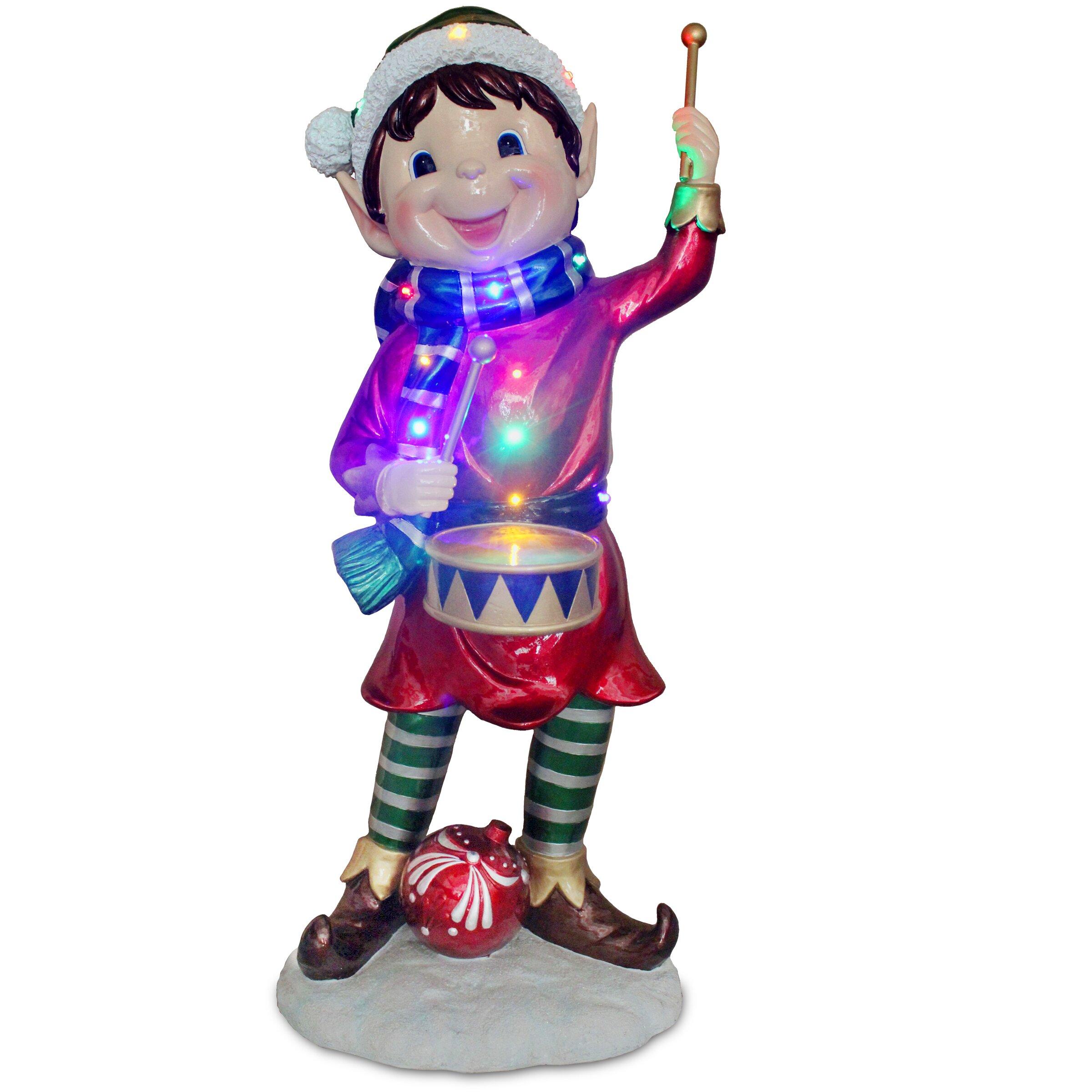 National Tree Co. Pre-Lit Pixie Elf Christmas Decoration