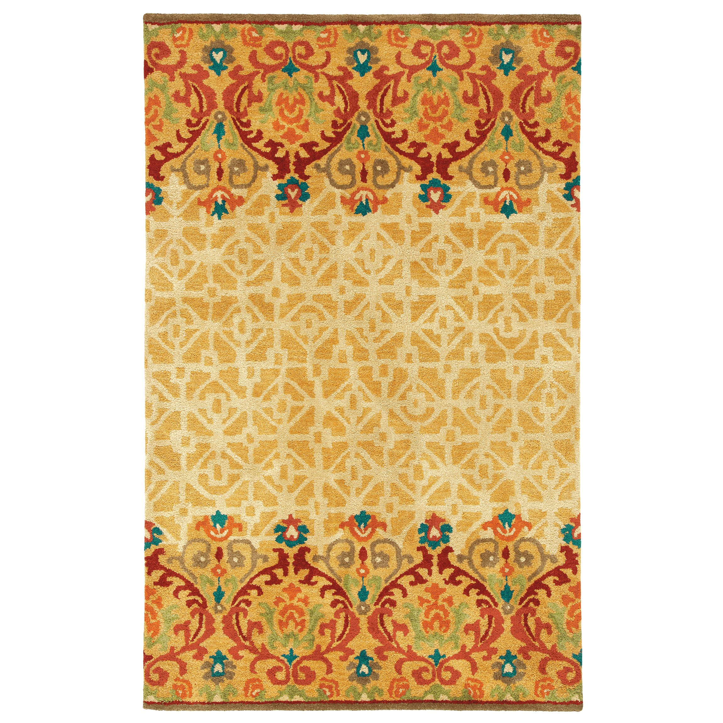 Company c warm as toast caramel area rug reviews wayfair for Warm rugs