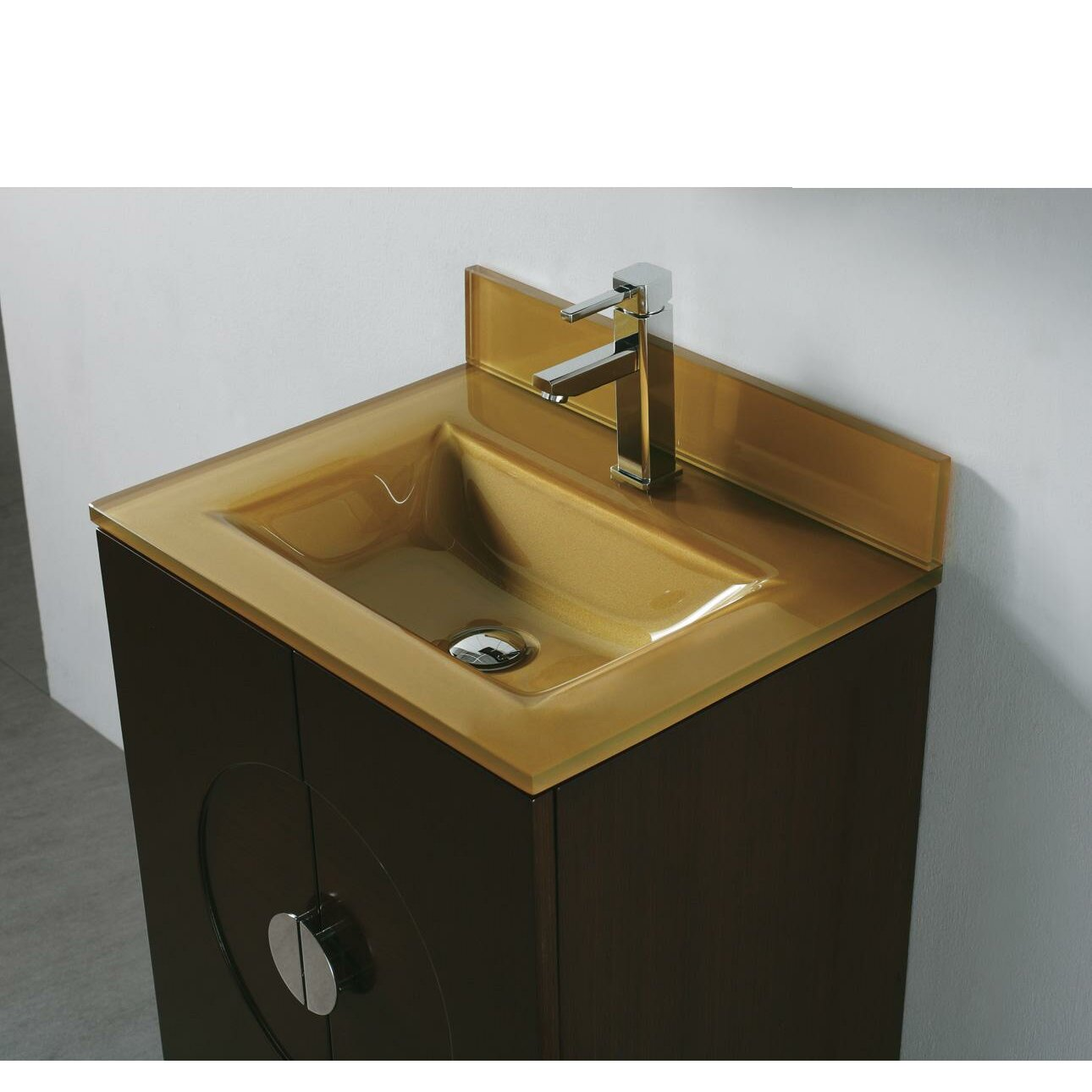 Madeli Tempered Glass Countertop Bathroom Sink & Reviews Wayfair