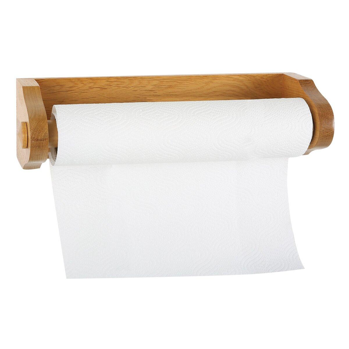 design house dalton wall mounted paper towel holder reviews wayfair. Black Bedroom Furniture Sets. Home Design Ideas