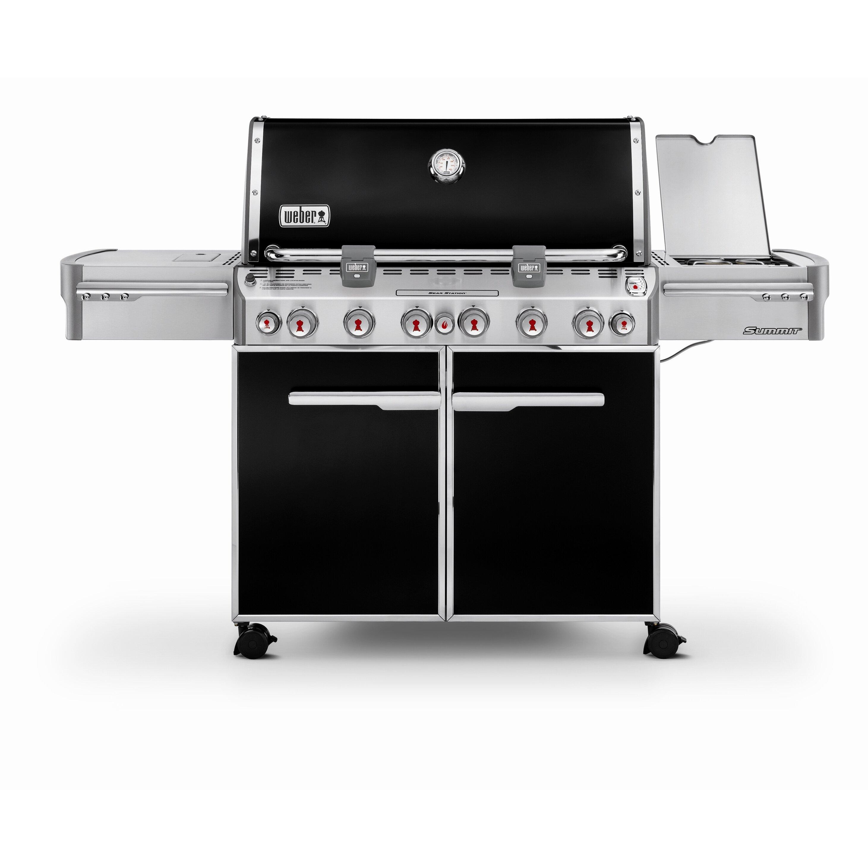 summit e 670 gas grill wayfair. Black Bedroom Furniture Sets. Home Design Ideas