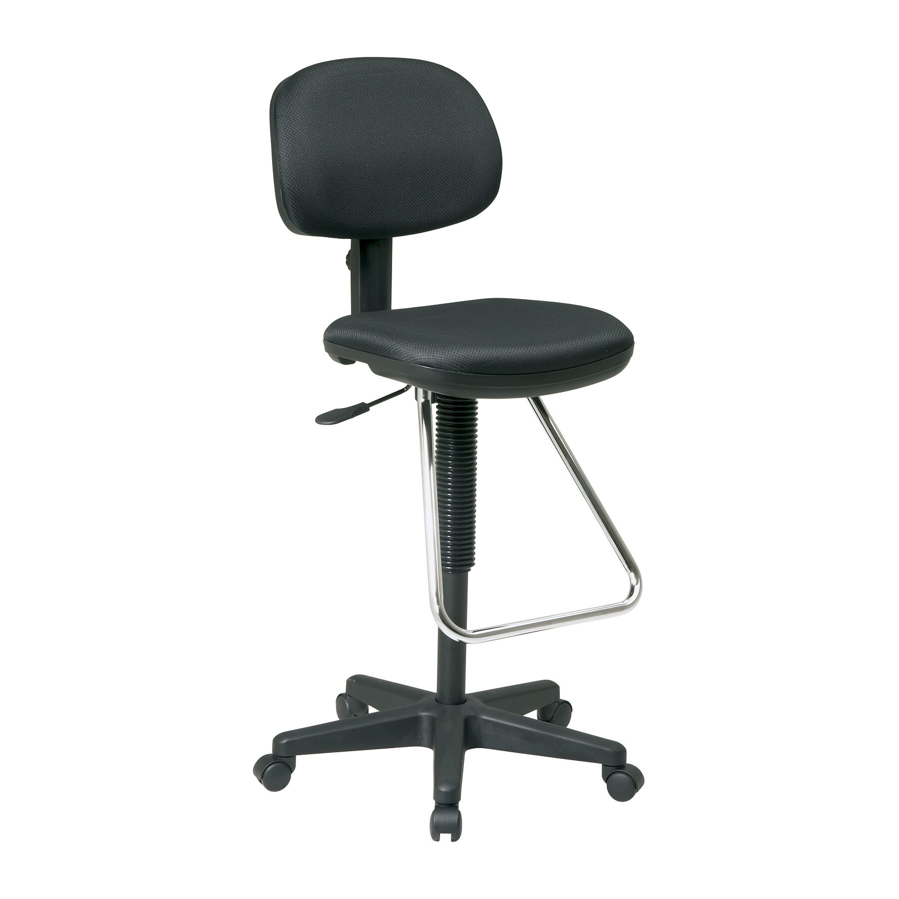 Office Star Height Adjustable Drafting Chair With Footrest