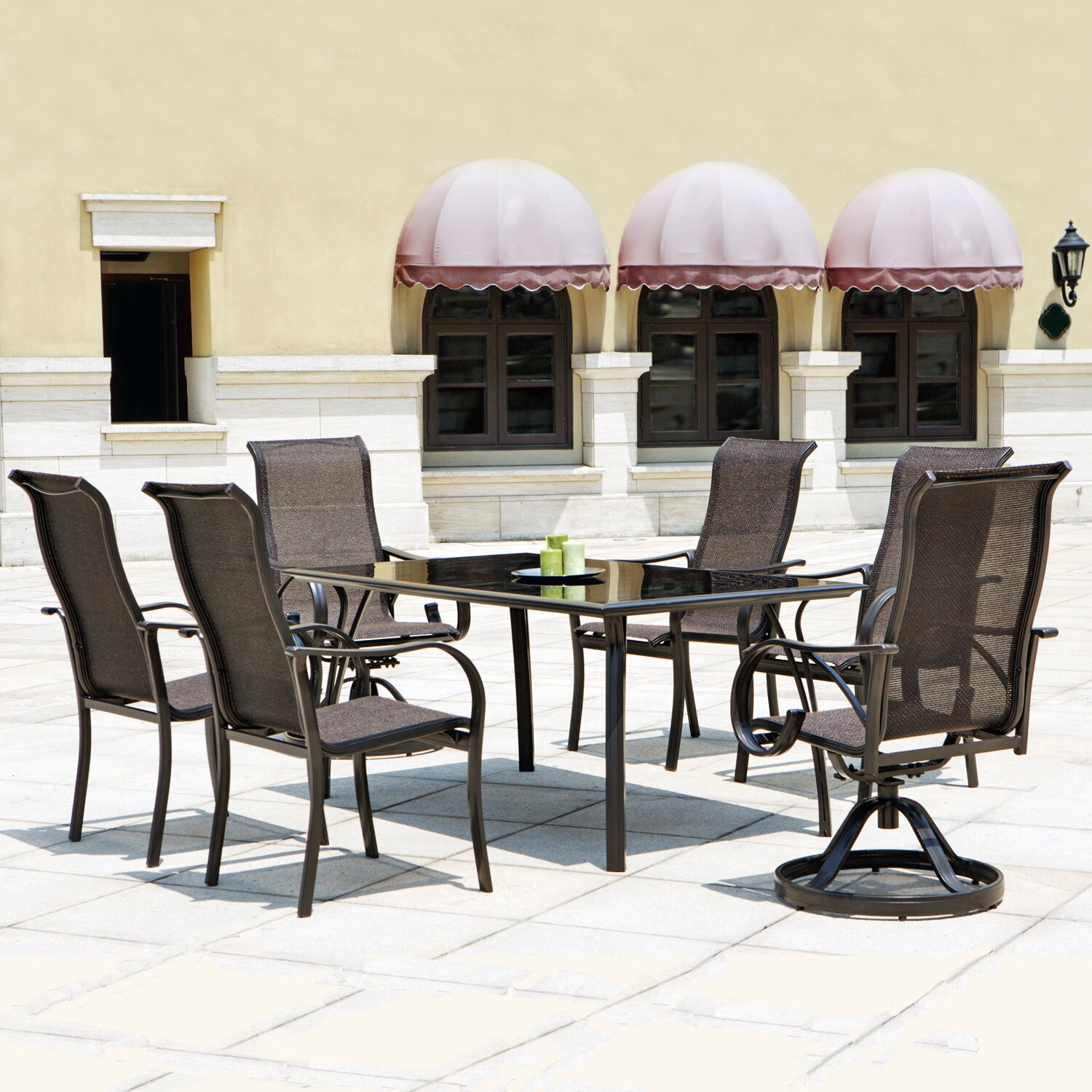 Mission Hills Coronado 7 Piece Dining Set & Reviews