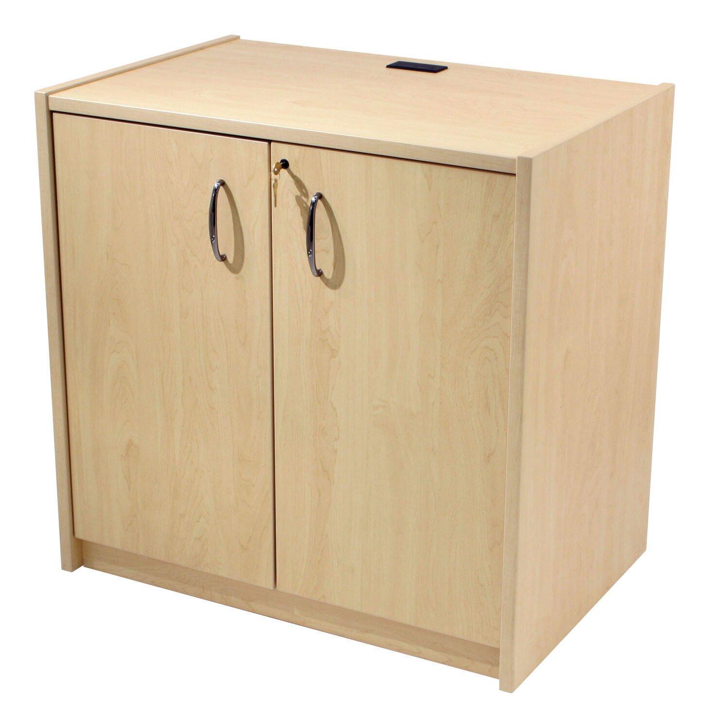 2 Door Storage Cabinet   Wayfair Supply