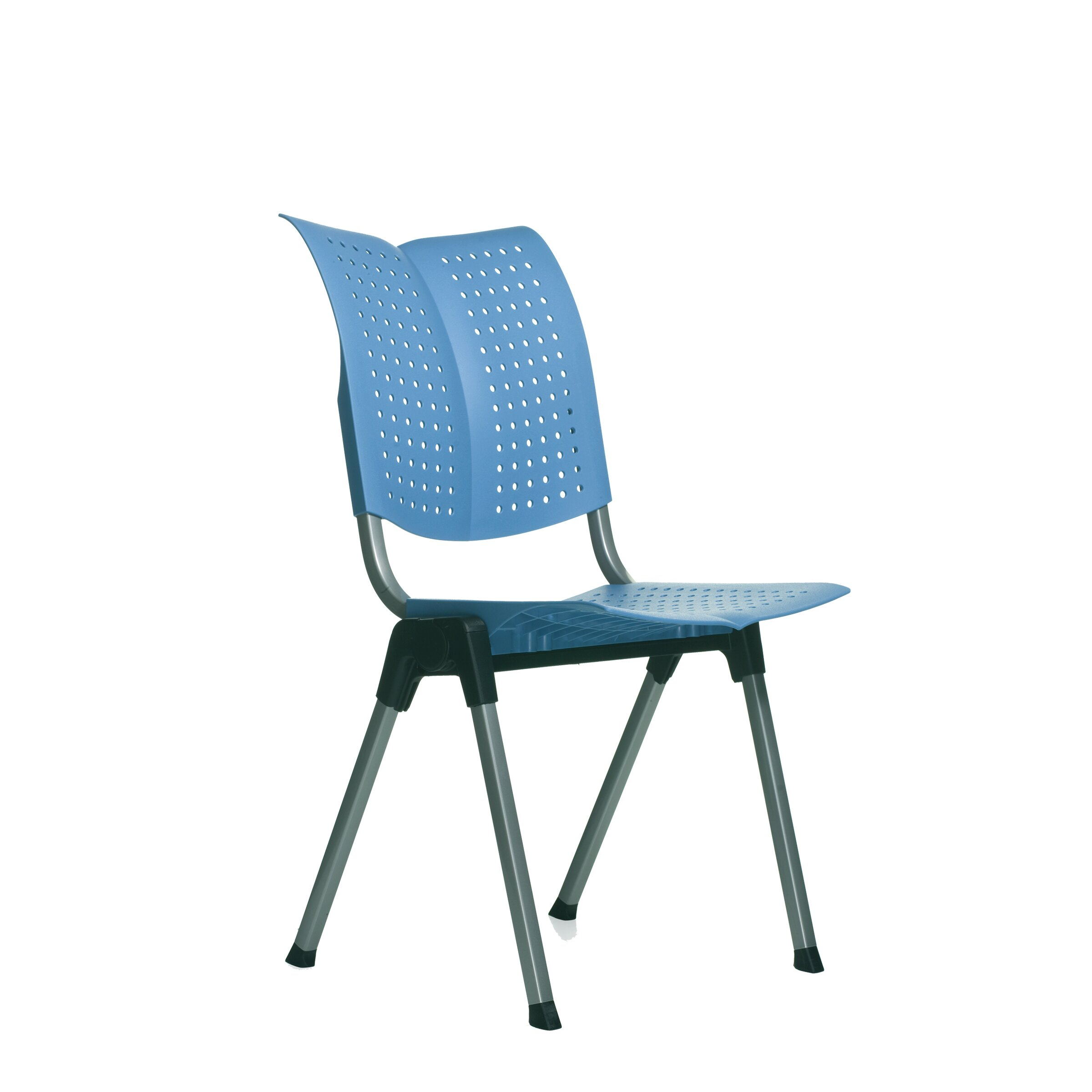 HAG Wing Armless Stacking Chair