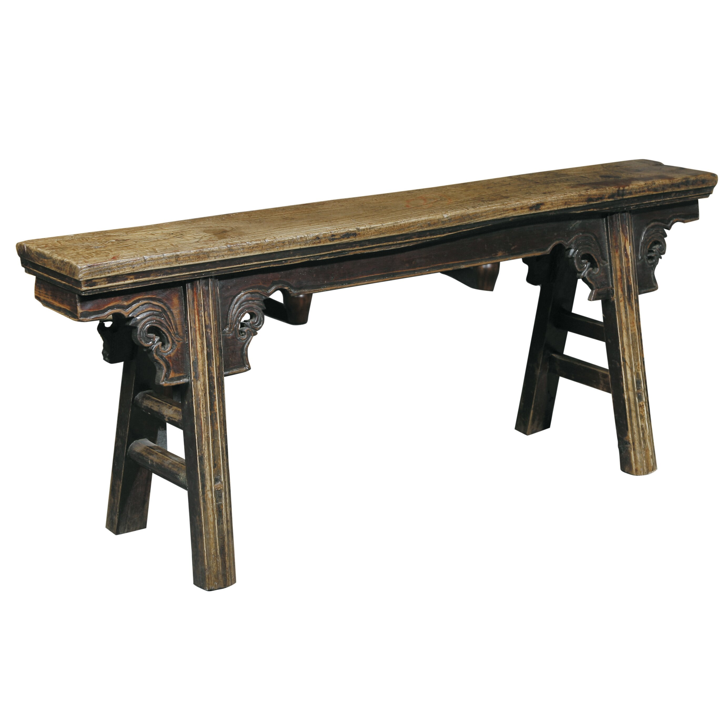 Furniture Classics LTD Peasant Wood Kitchen Bench & Reviews  Wayfair