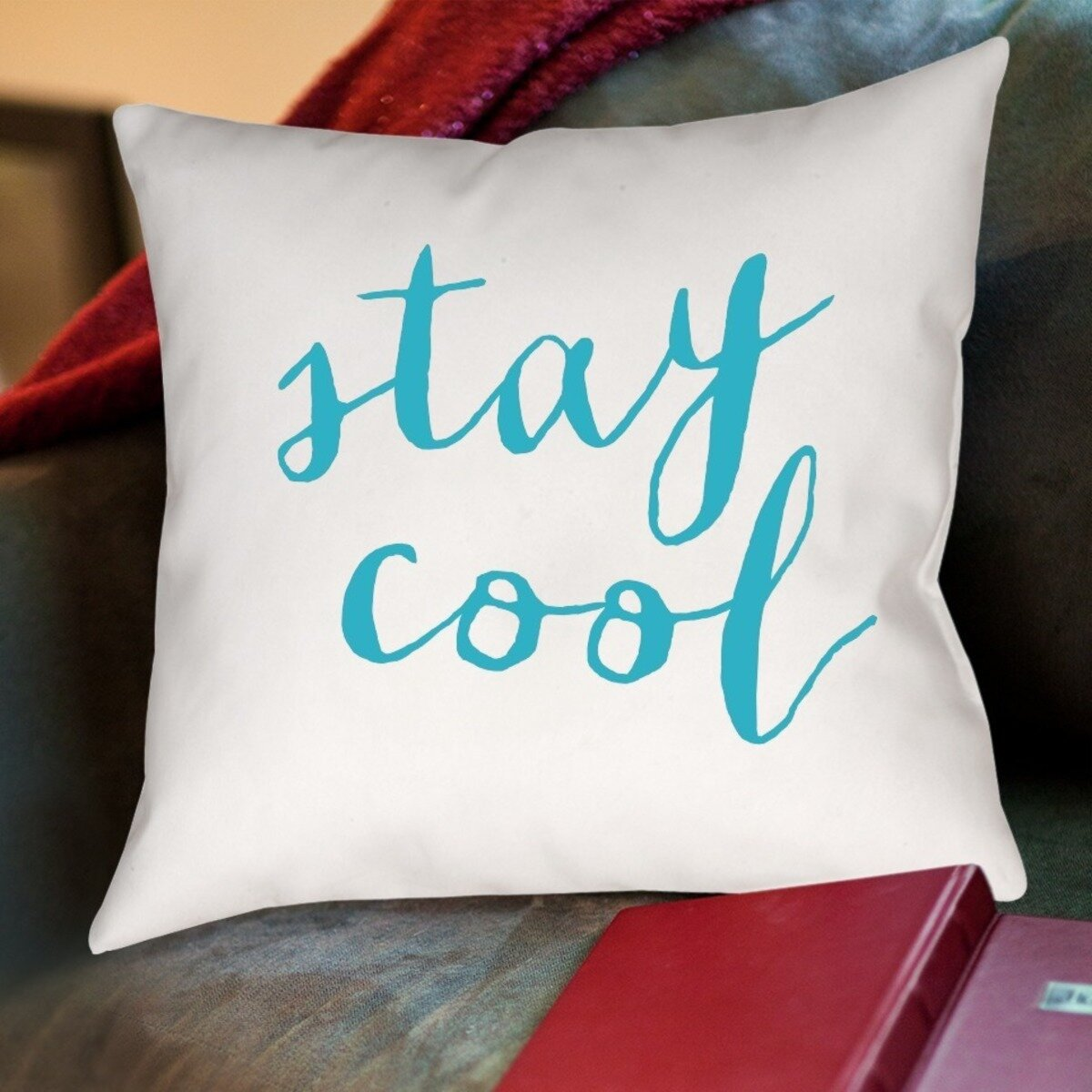 Stay cool throw pillow wayfair for Cool couch pillows