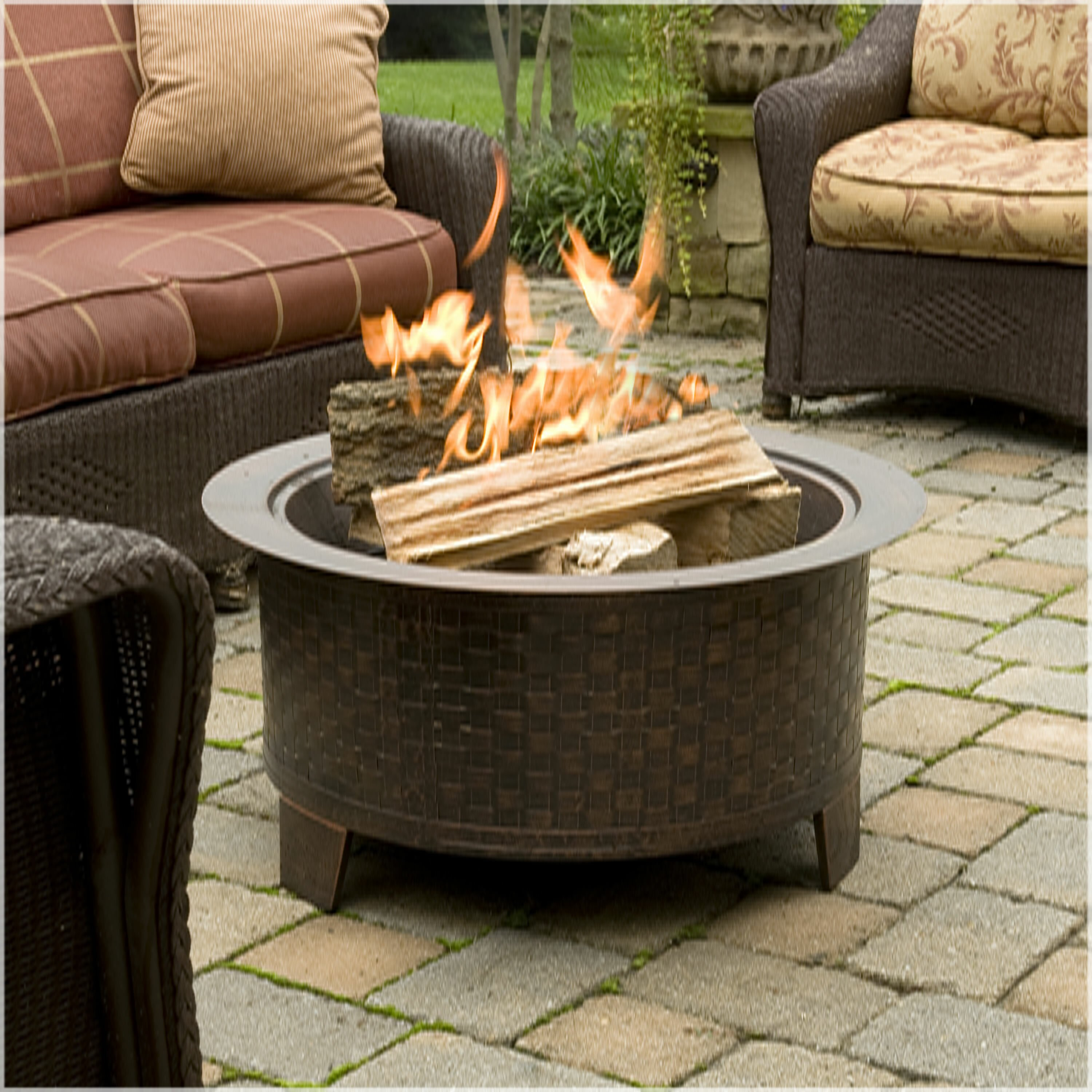 CobraCo Woven Fire Pit & Reviews