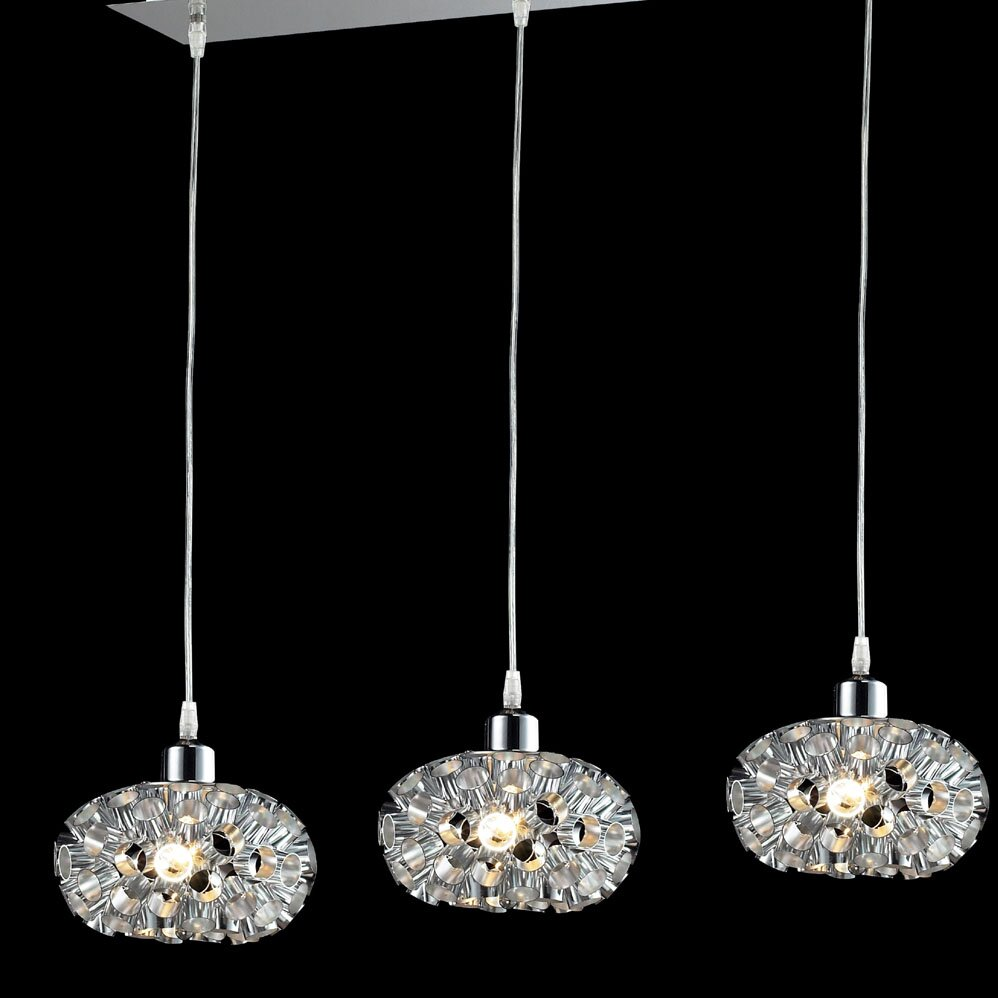 Kitchen Island Lantern Pendants: Laguna 3 Light Kitchen Island Pendant