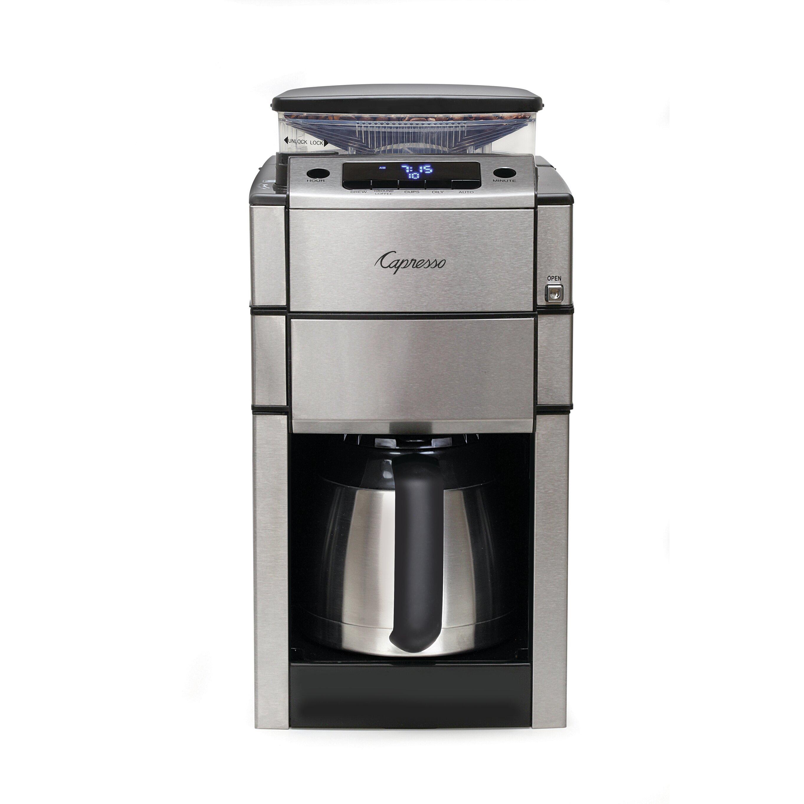 Best Coffee Maker Under Usd 40 : Capresso Coffee Team Pro Plus Coffee Maker & Reviews Wayfair