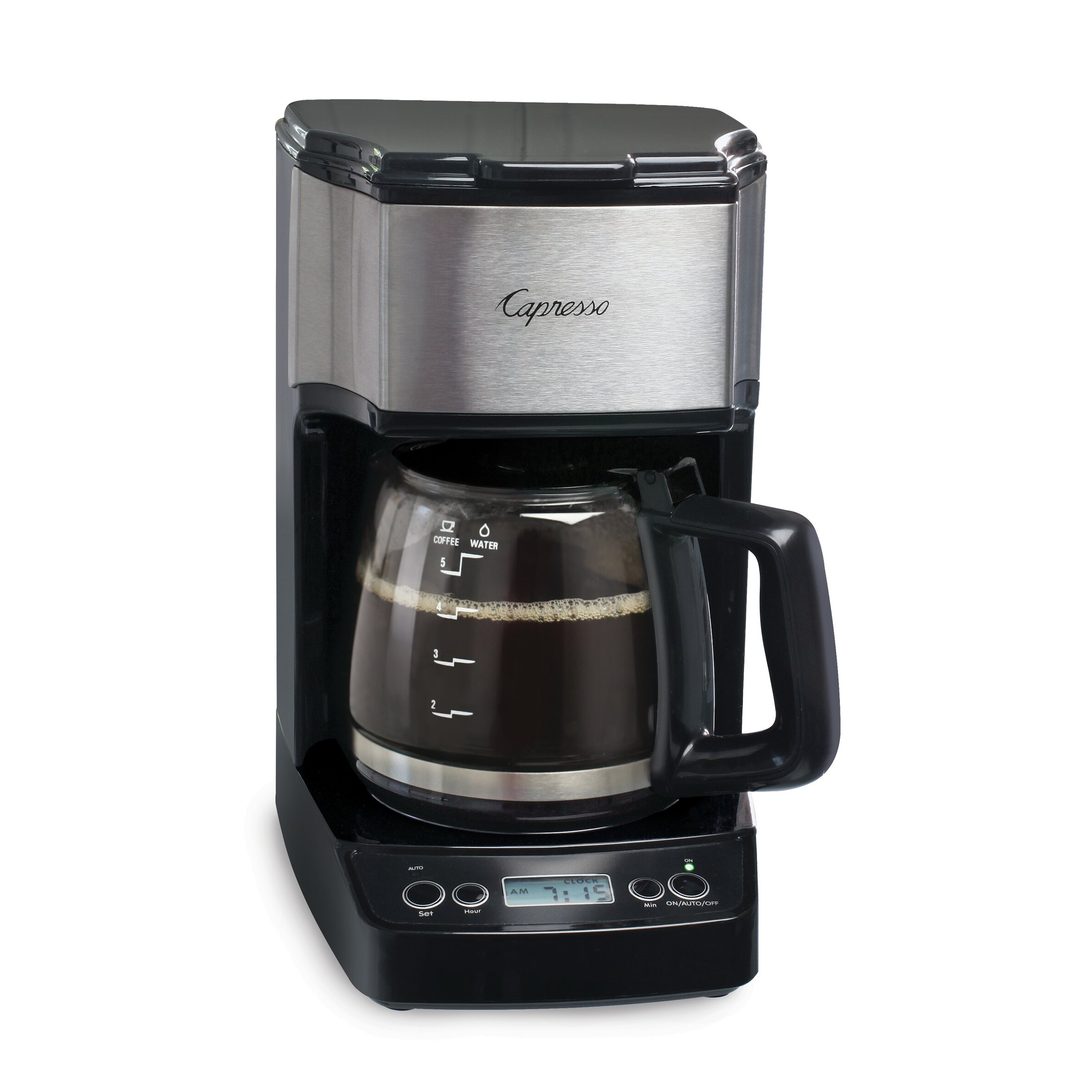 Drip Coffee Maker Pictures : Capresso 5-Cup Mini Drip Coffee Maker & Reviews Wayfair