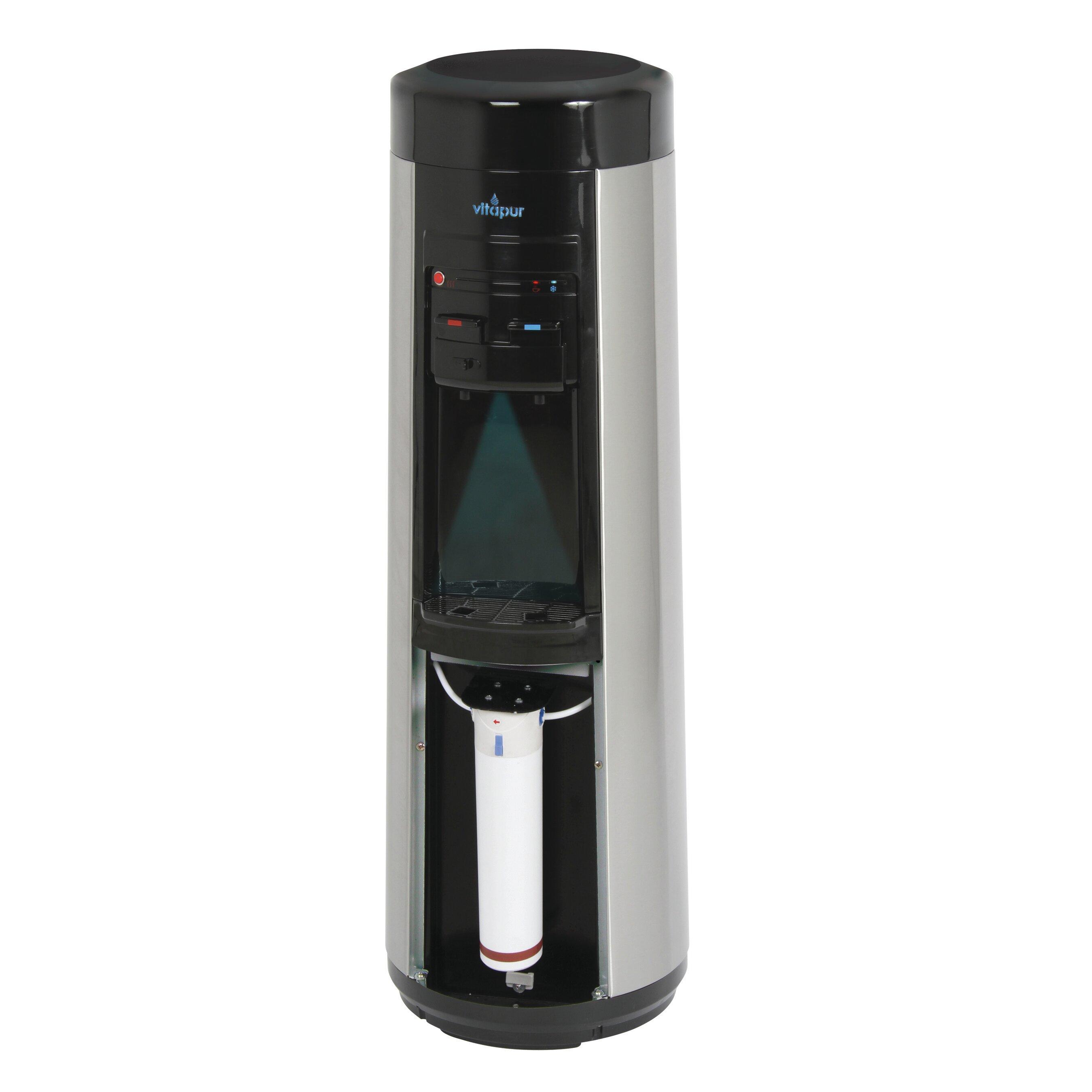 Countertop Bottleless Water Dispenser : ... Bottleless Free-Standing Hot, Cold, and Room Temperature Water Cooler