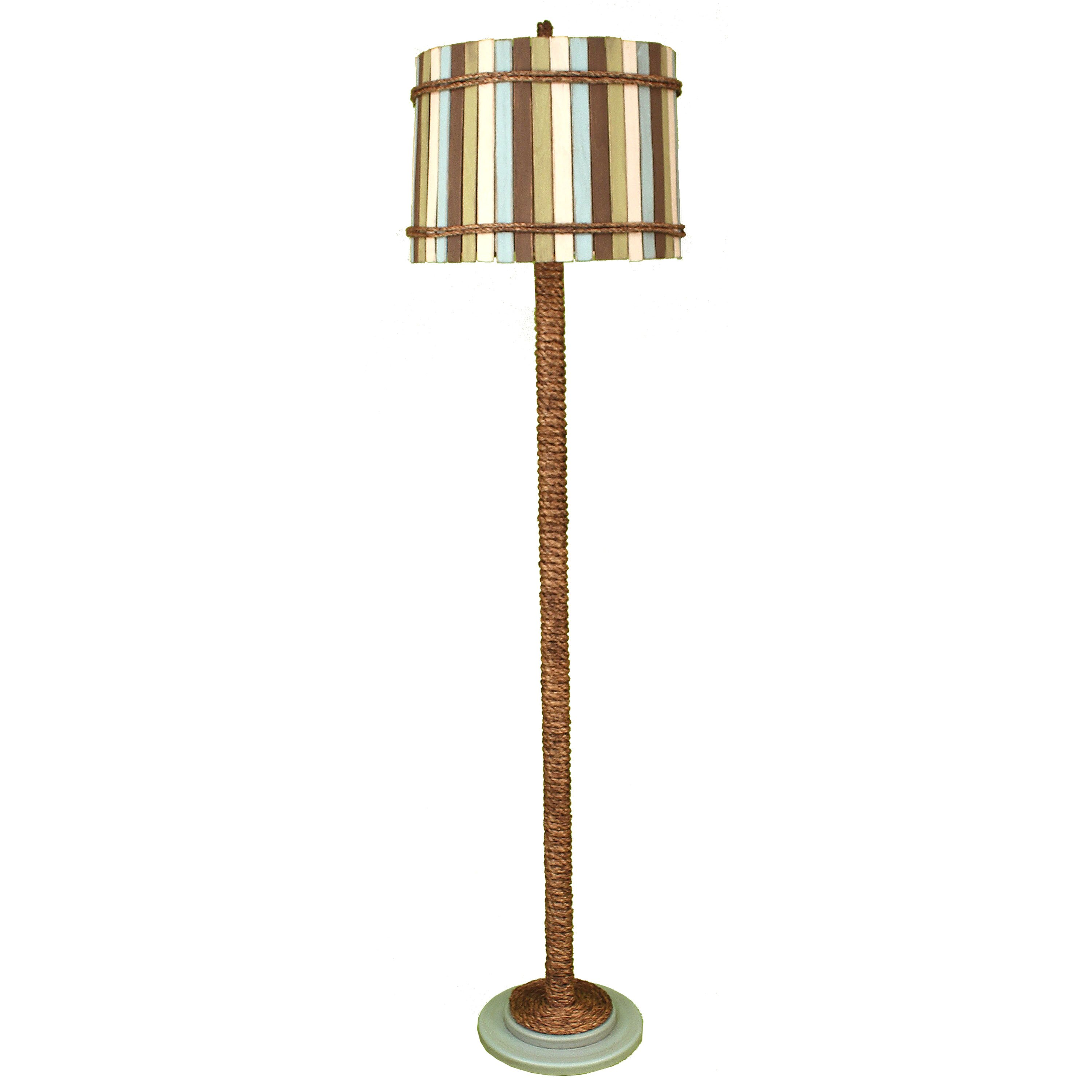 coast lamp mfg coastal living manila rope 64 floor lamp reviews. Black Bedroom Furniture Sets. Home Design Ideas