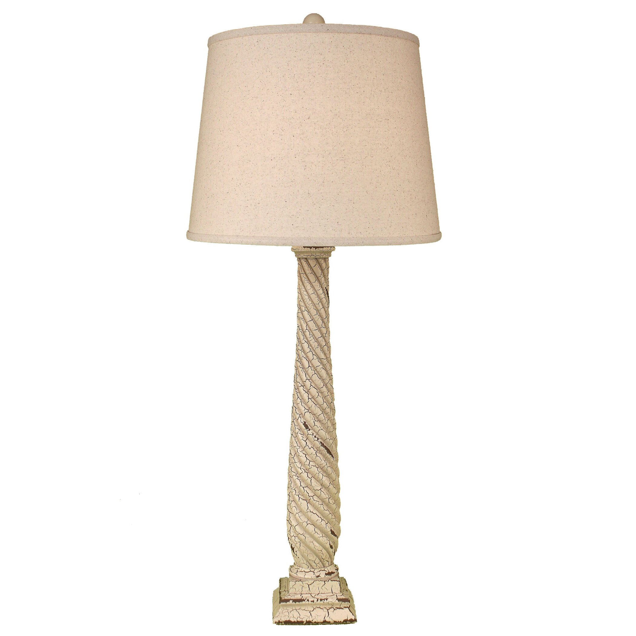 Coast Lamp Mfg Casual Living Tall Slender Swirl 375 H