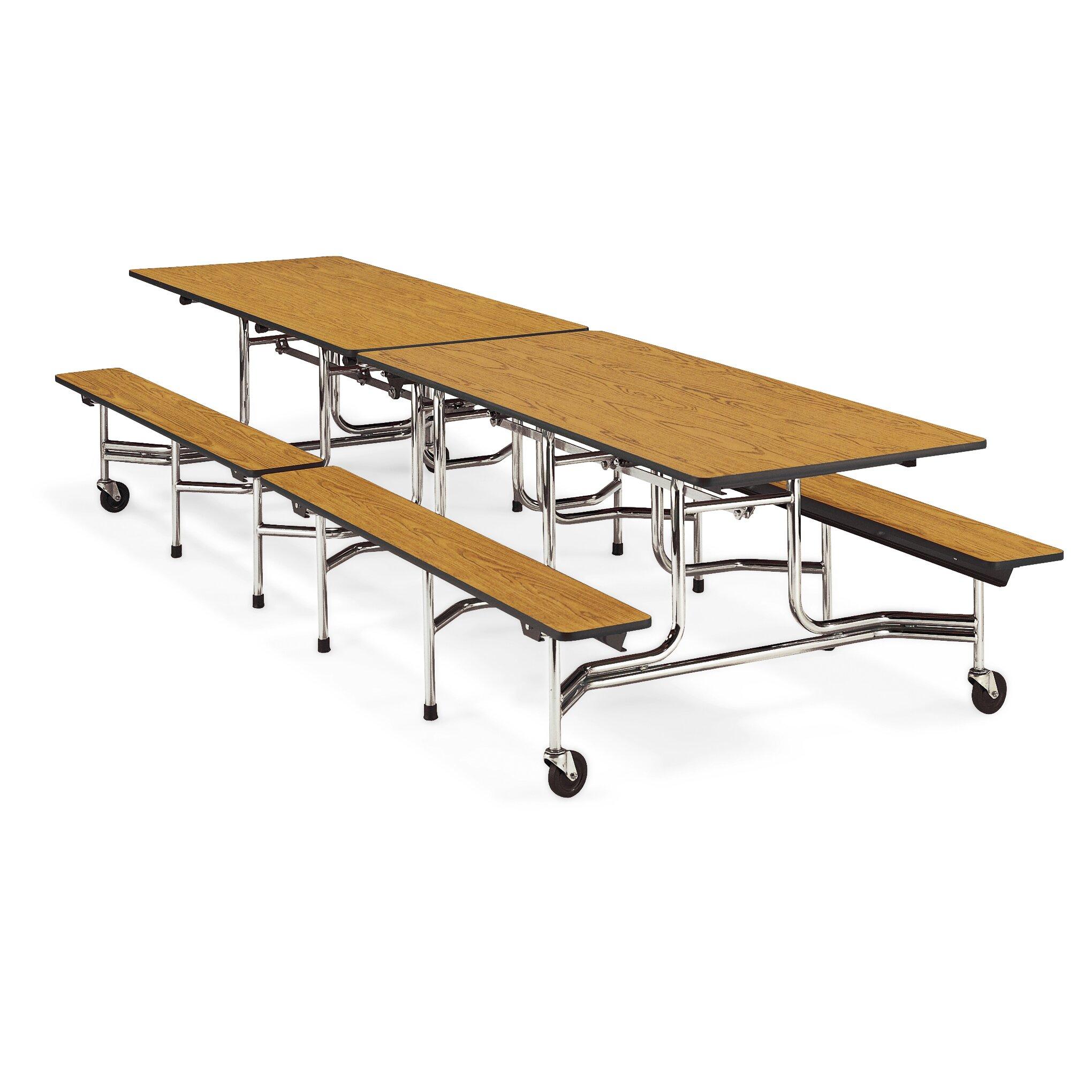 12 x 30 rectangular cafeteria table wayfair supply for 12 x 30 table