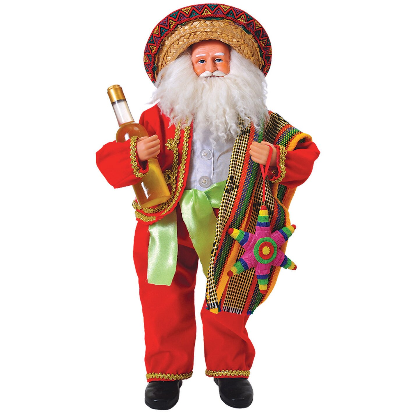 "Santa's Workshop 18"" Mexican Santa & Reviews 