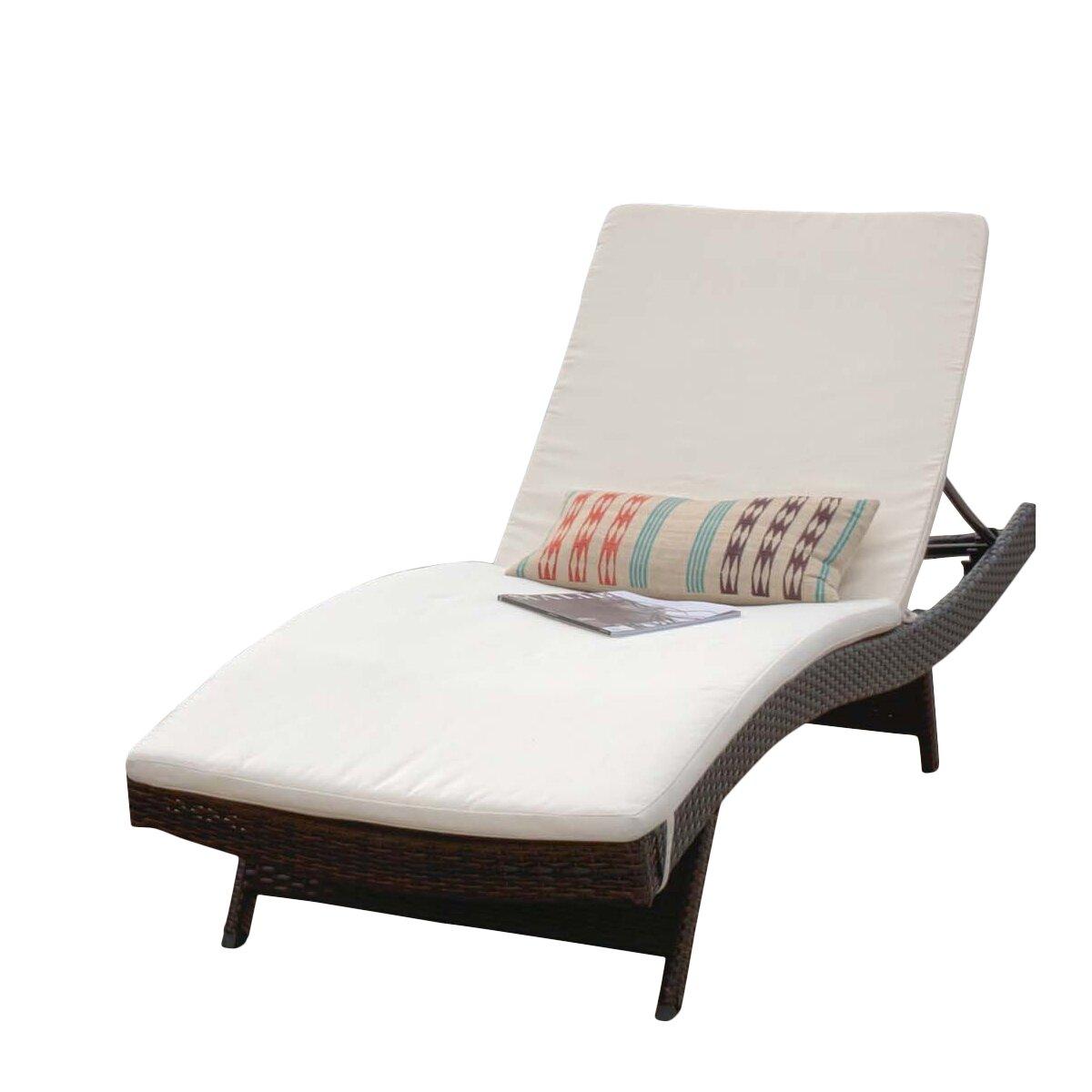 Home Loft Concepts Outdoor Sunbrella Chaise Lounge Cushion