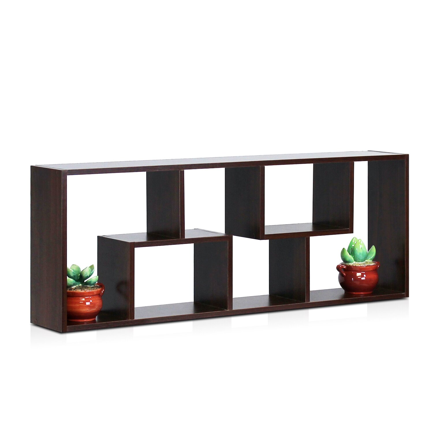 furinno boyate 4 cube wall mounted bookcase. Black Bedroom Furniture Sets. Home Design Ideas