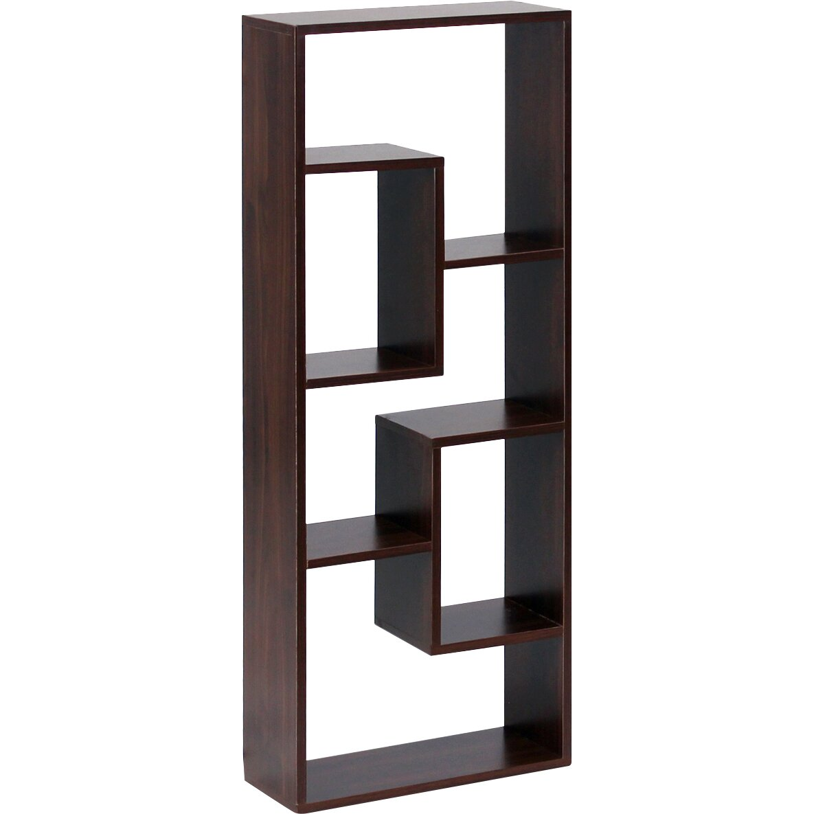 Furinno boyate 4 cube wall mounted bookcase Wall mounted bookcase shelves