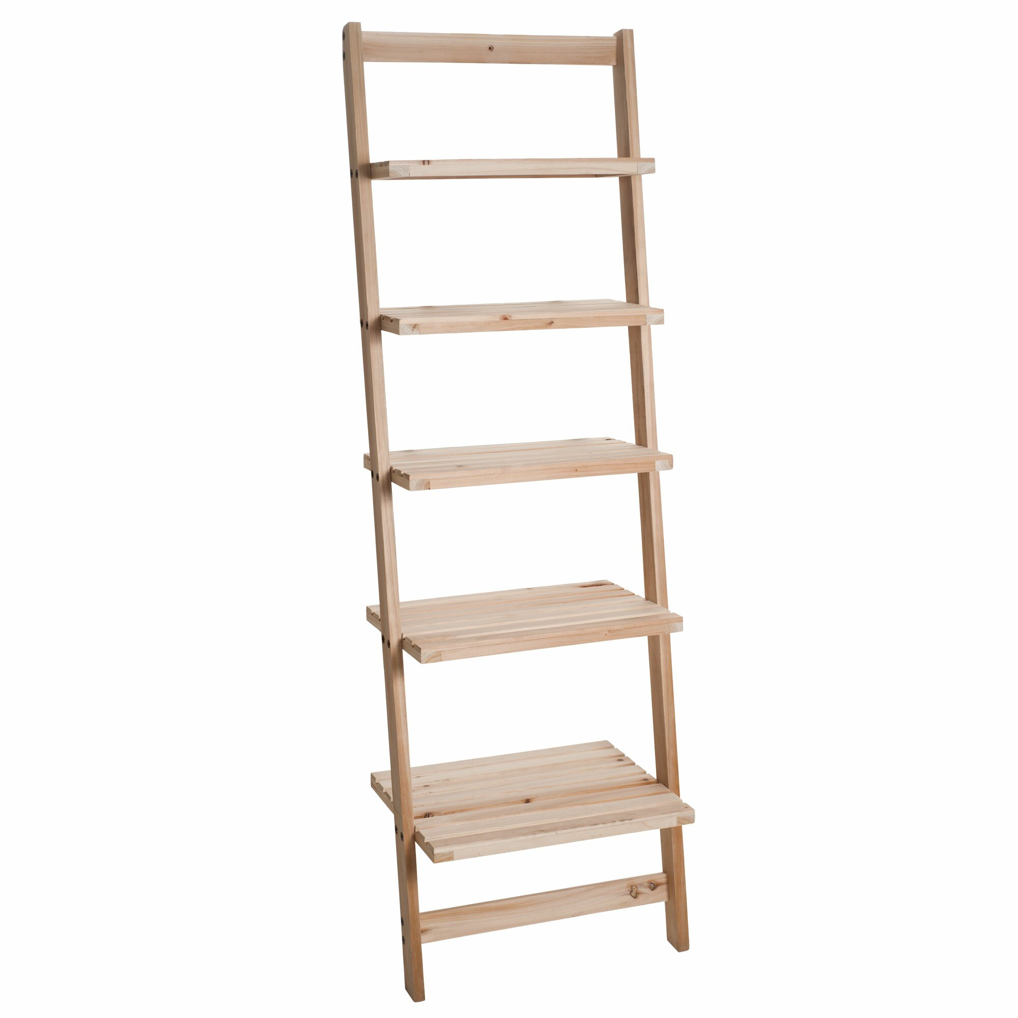 Trademark Global Leaning Bookcase Reviews