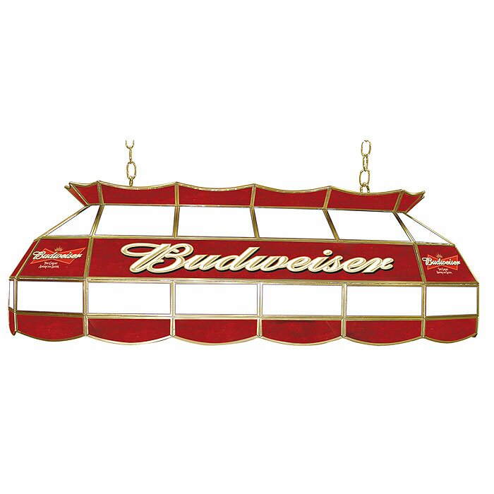 Budweiser 3 Light Pool Table Light