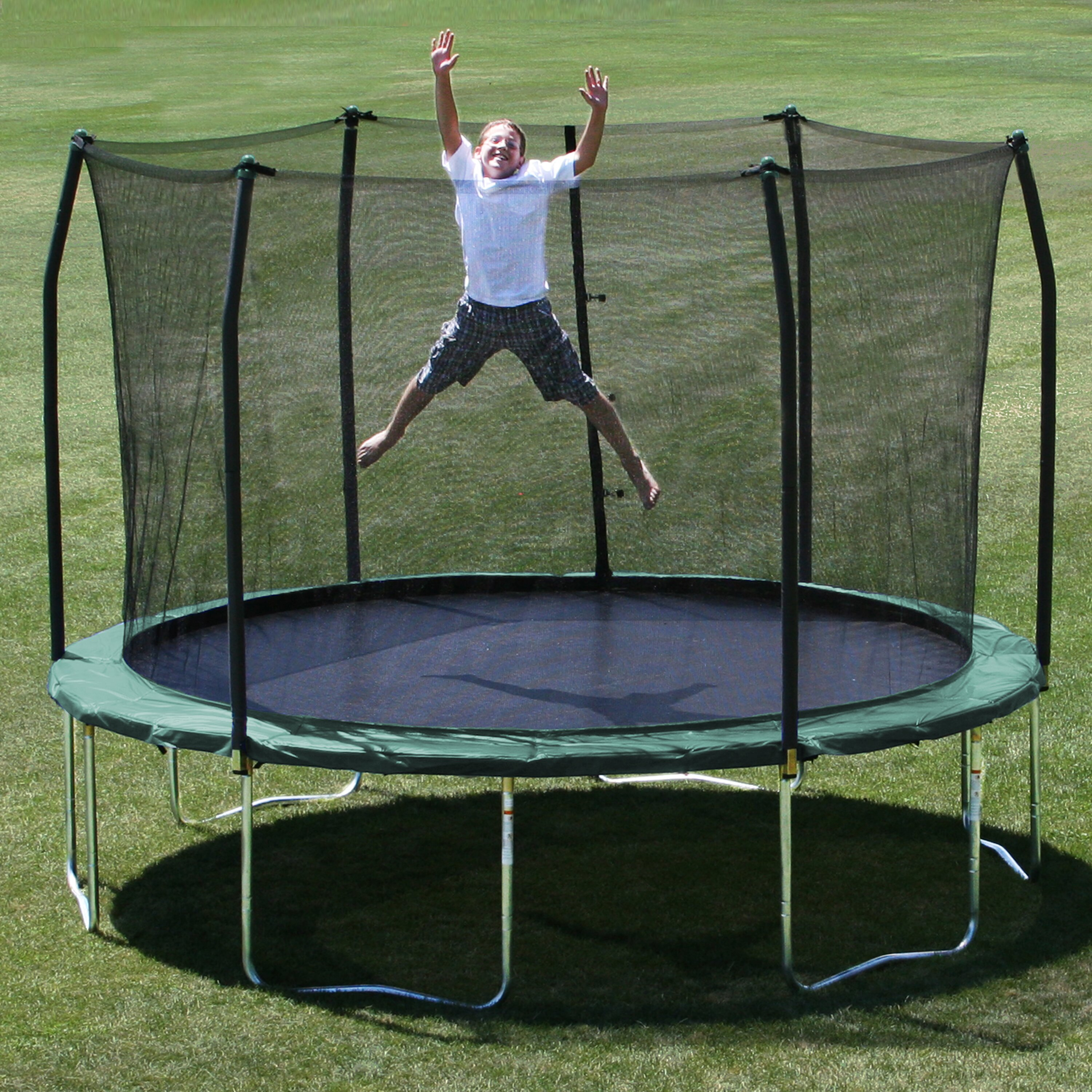 Top 10 Best Oval Trampoline With Safety Enclosures Our Top: Skywalker 12' Trampoline With Safety Enclosure & Reviews
