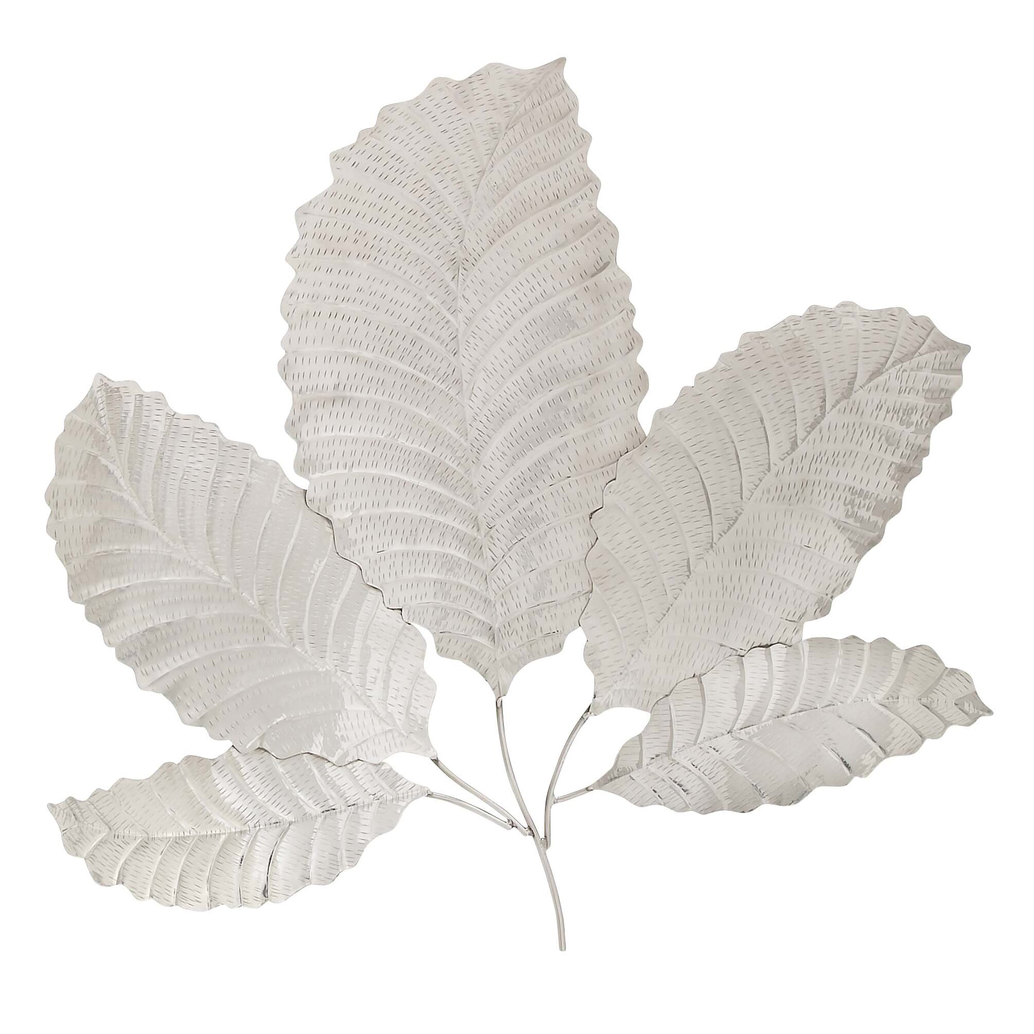Woodland Imports Classic Wall D�cor Reviews: Woodland Imports Decorative Leaf Wall Décor & Reviews