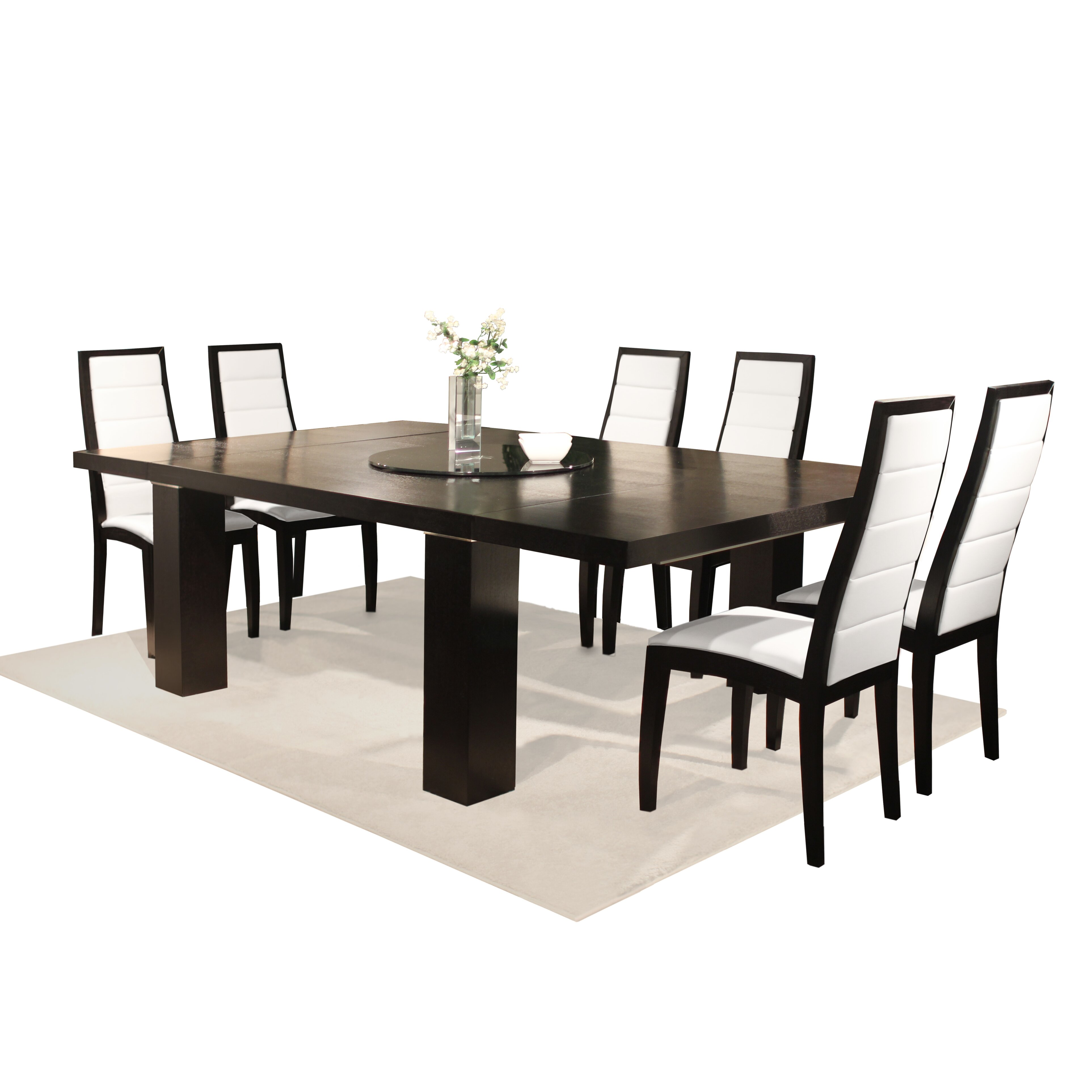 Dining Table Arm Chairs End Tables Bamboo Jordan Dining Table