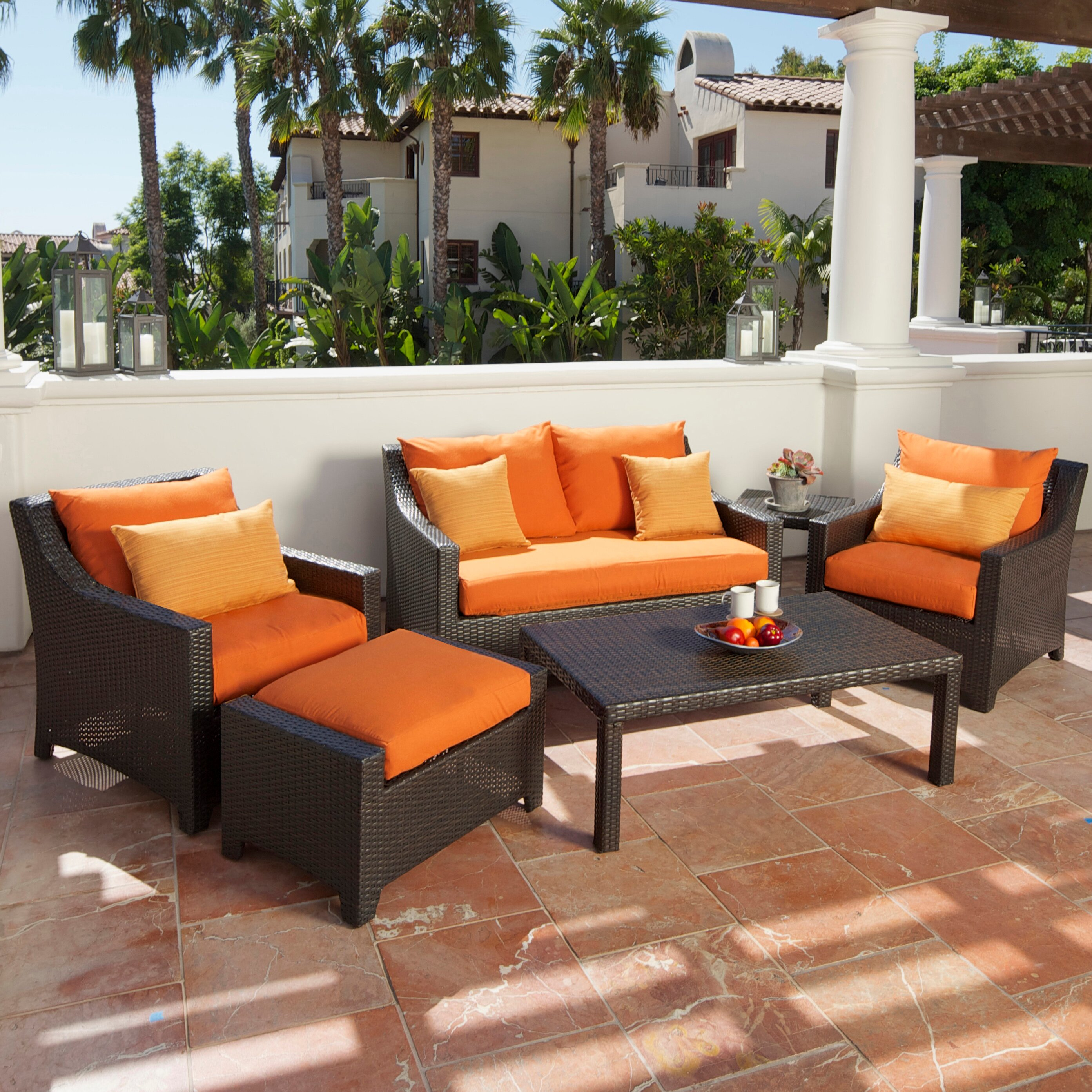 Outdoor Winkel Oss Rst Outdoor Tikka Piece Deep Seating Group With