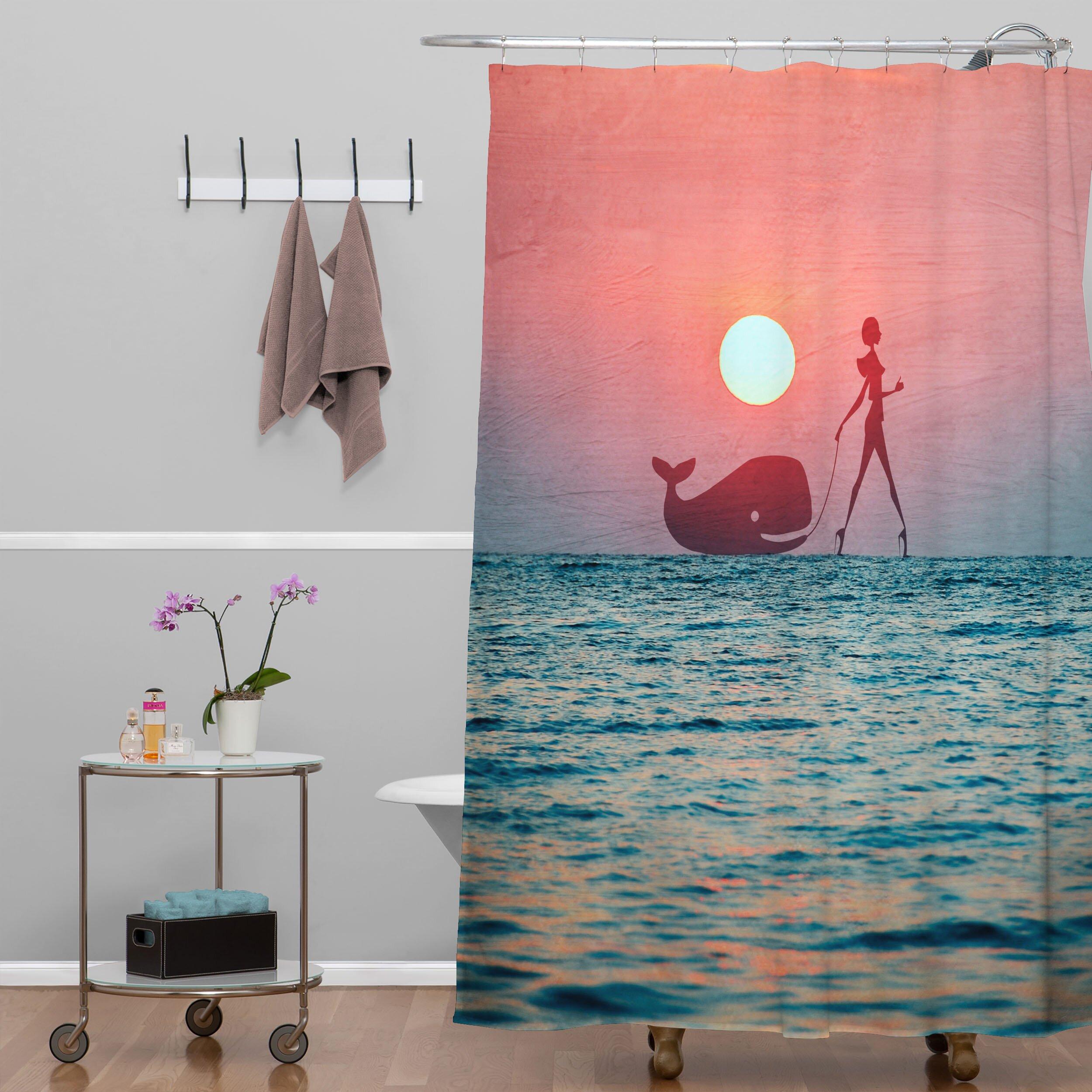 DENY Designs Belle 13 Fancy Pet Shower Curtain & Reviews