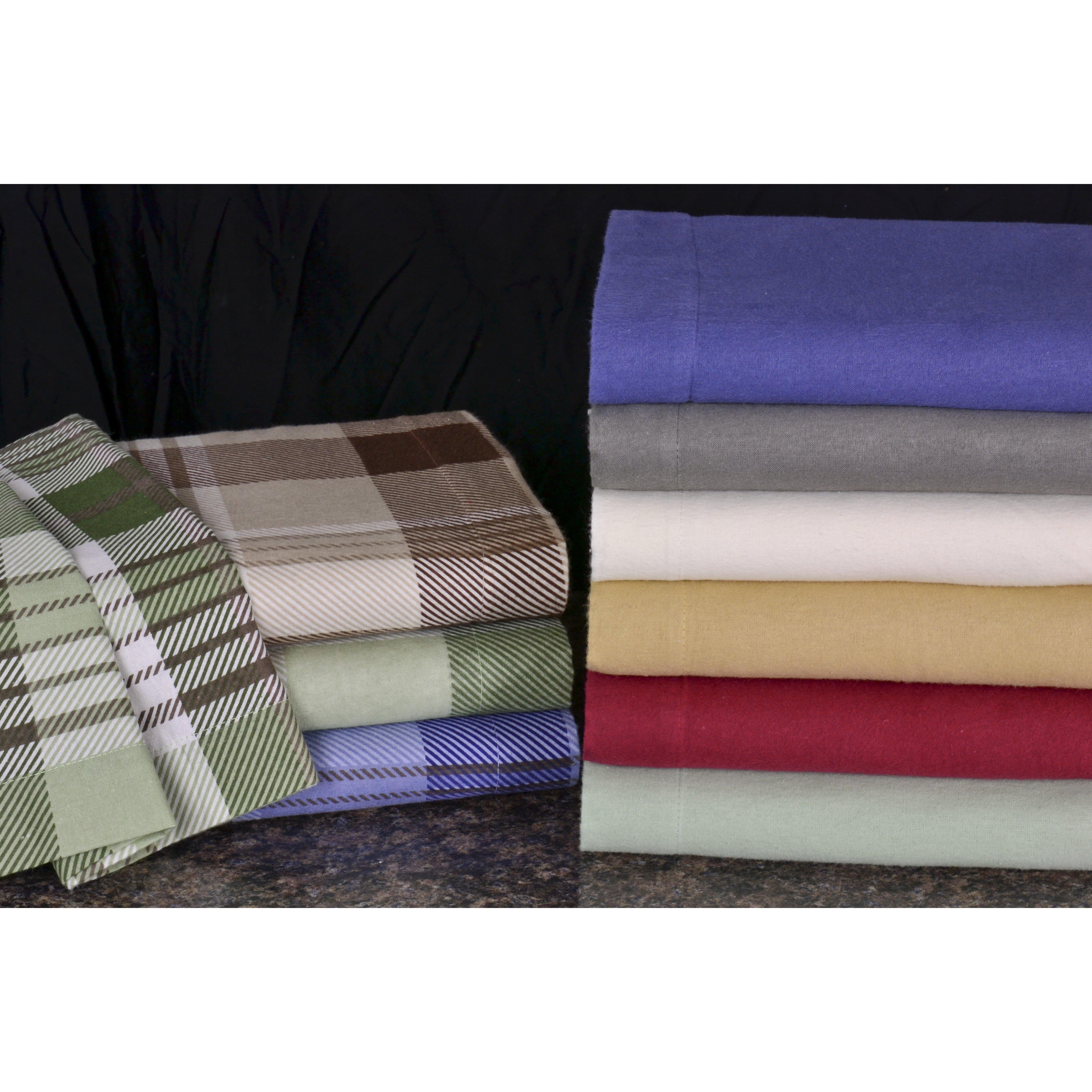 Wildon Home 174 Winter Nights 4 Piece Cotton Flannel Sheet