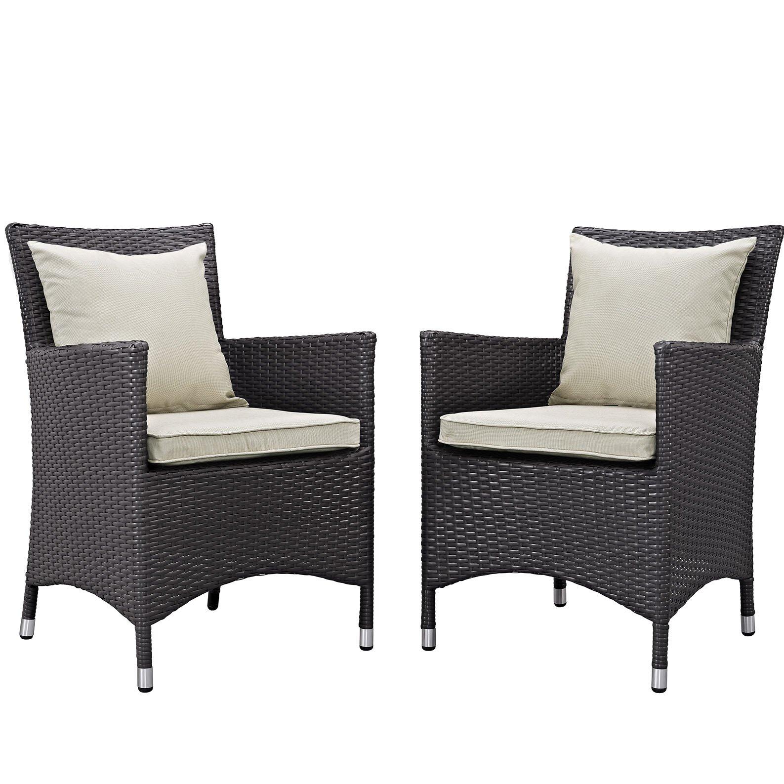 Convene Patio Chair with Cushions