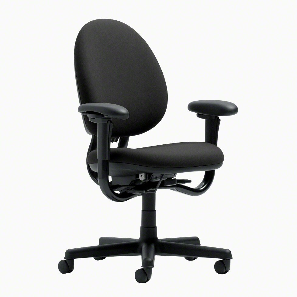 criterion high back pneumatic upholstered office chair by steelcase