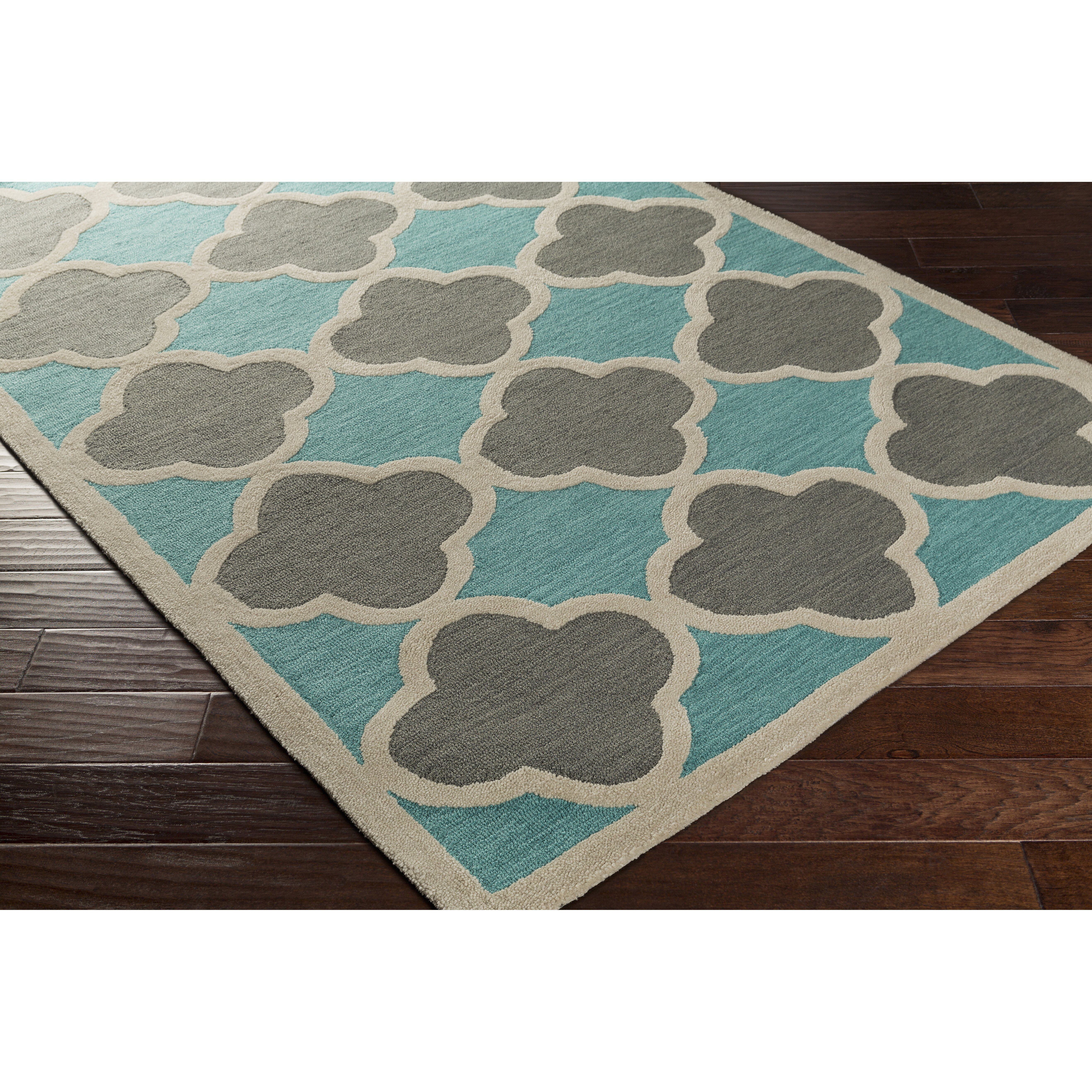 Artistic Weavers Holden Maisie Teal/Gray Area Rug