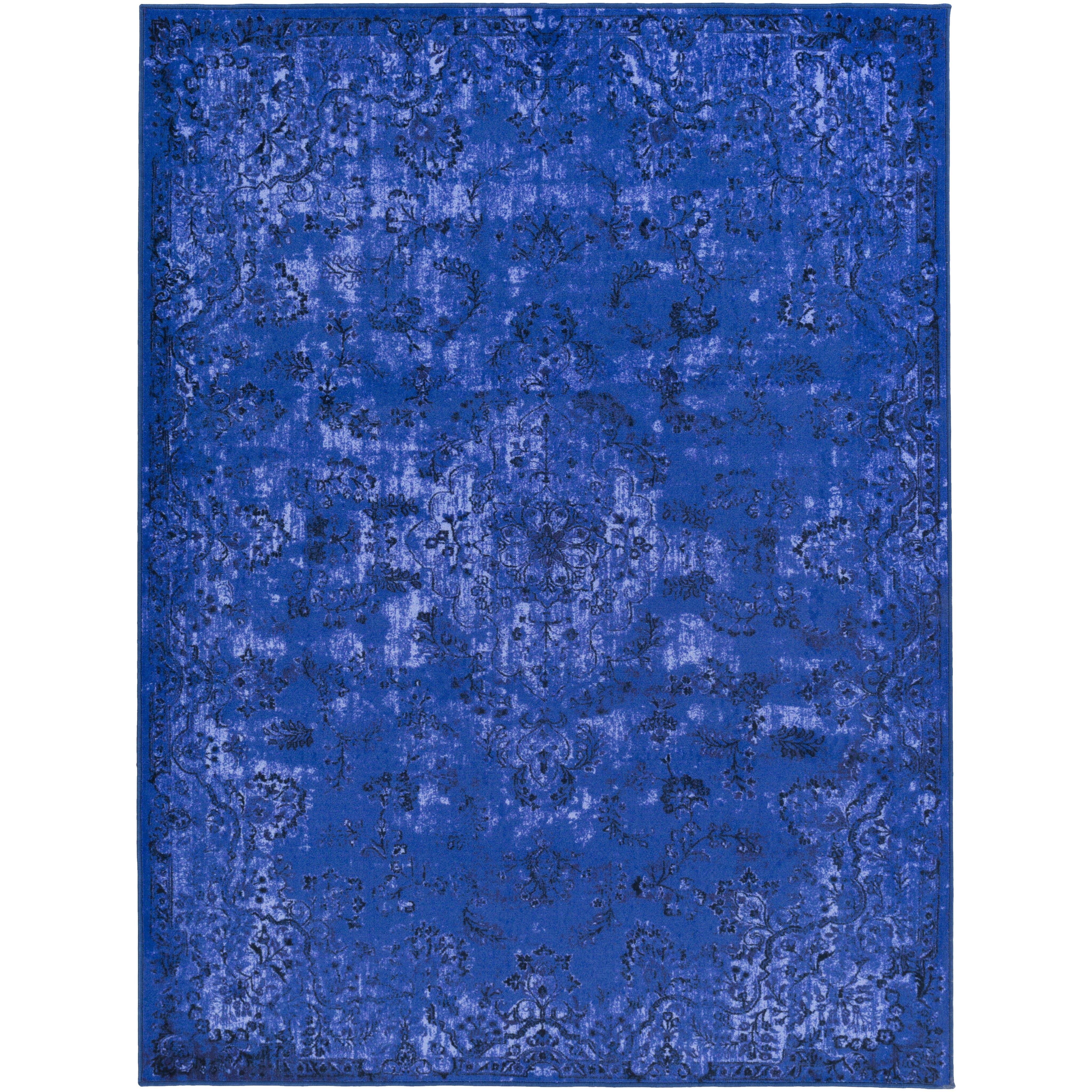 Saturn Austin Royal Blue Area Rug by Artistic Weavers