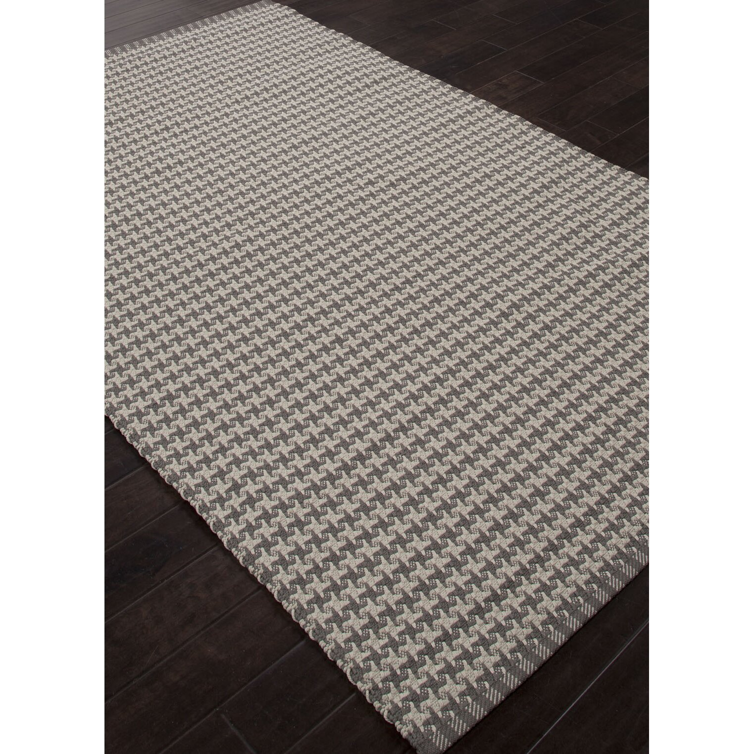 Scout Gray Ivory Geometric Indoor Outdoor Rug