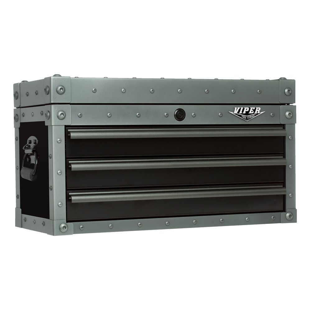 Viper Tool Storage Armor Series 26 Quot Wide 3 Drawer Top