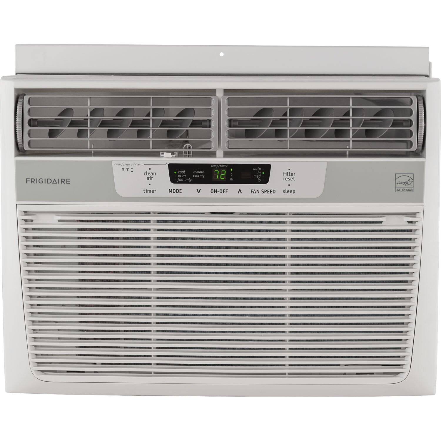 10 000 BTU Energy Star Window Compact Air Conditioner with Remote by  #4C633C