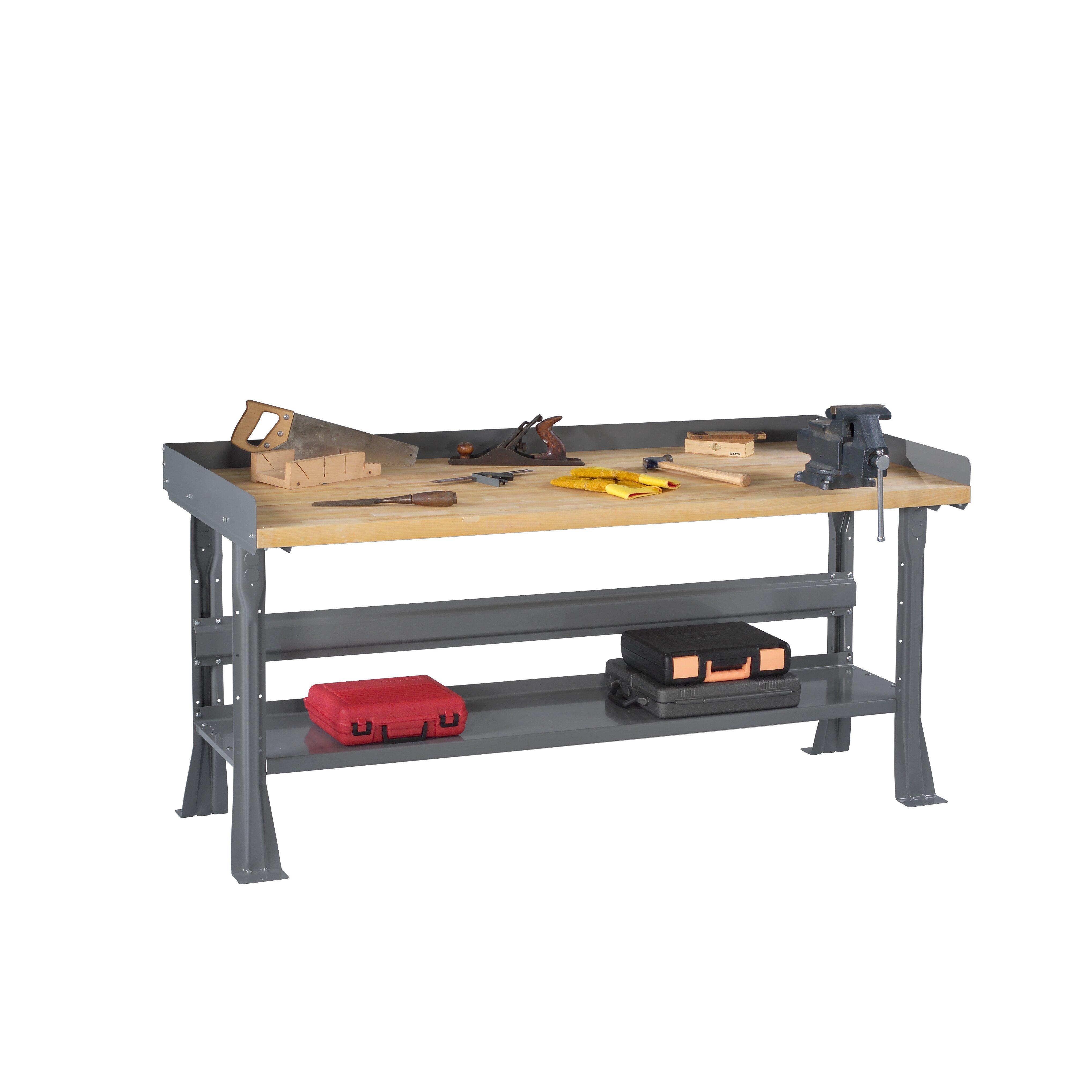 Laminated Maple Bench Top Maple Laminate Top Workbench Wayfair