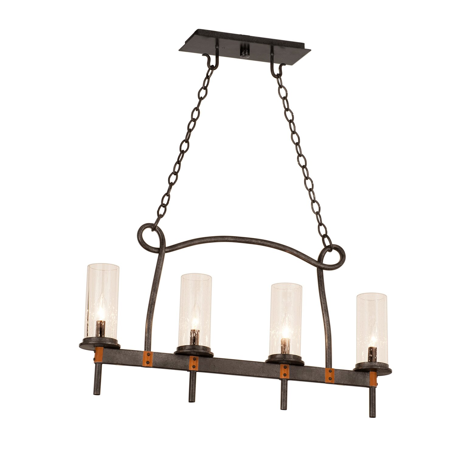 Kitchen Island Pendant Lighting: Bentham 4 Light Kitchen Island Pendant