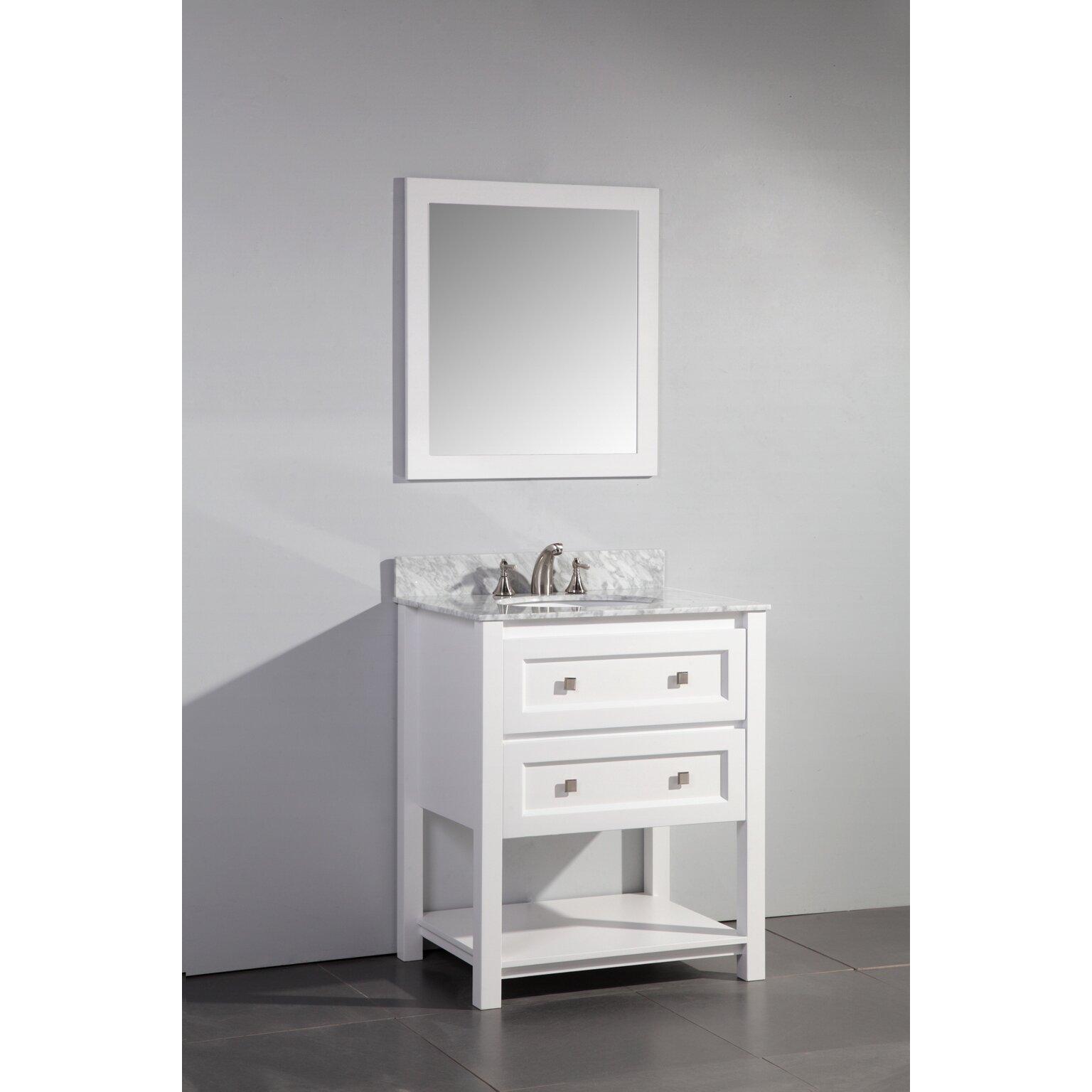 Legion Furniture 30 Quot Single Bathroom Vanity Set With