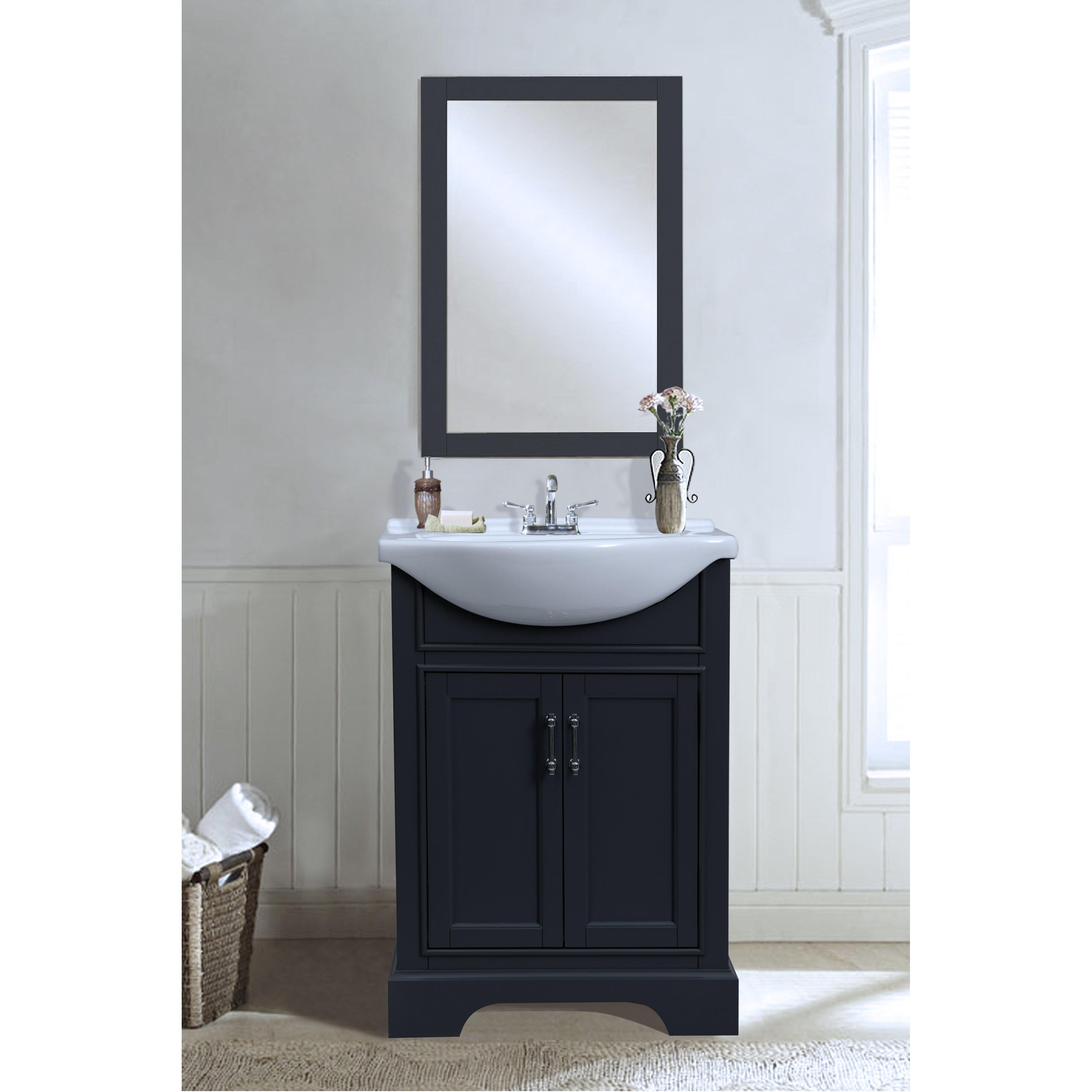Legion Furniture 24 Single Vanity Set Reviews Wayfair Supply