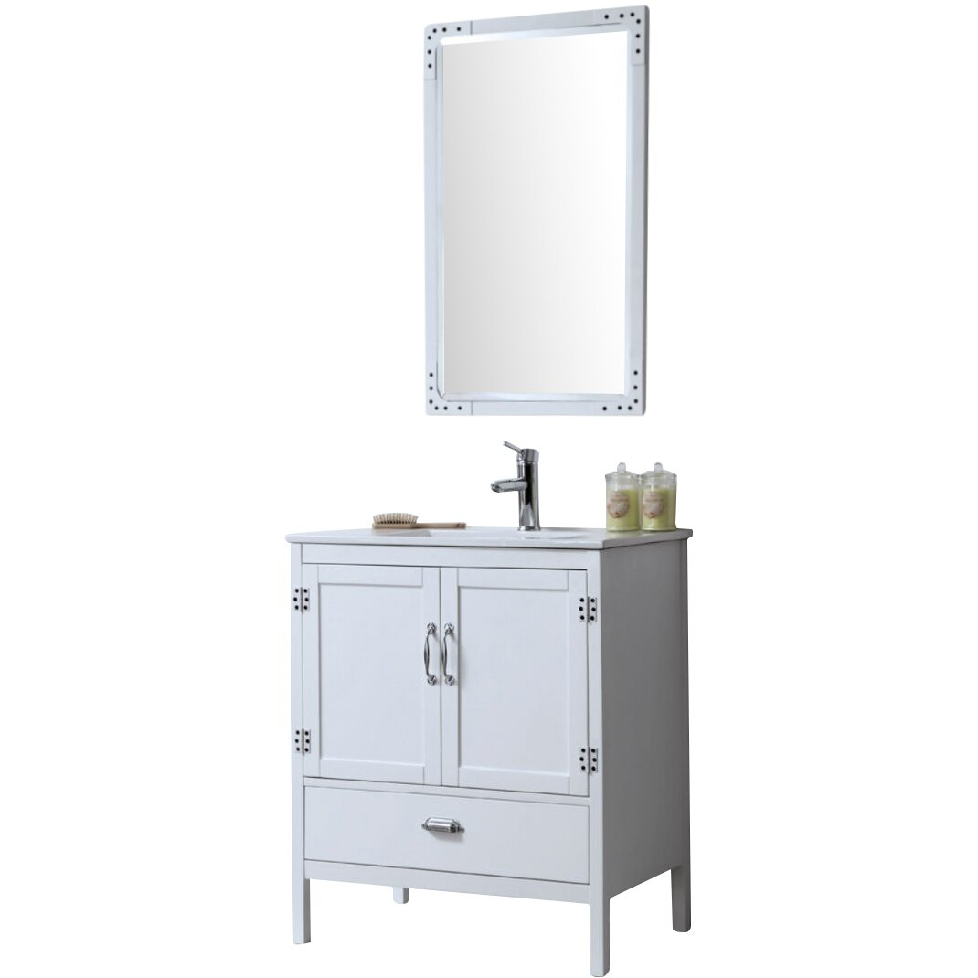 Legion Furniture 30 Single Bathroom Vanity Set Reviews Wayfair