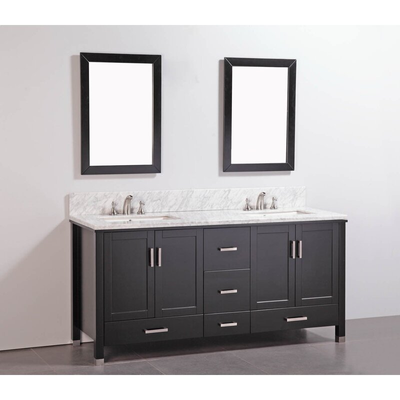 Legion Furniture 72 Quot Double Bathroom Vanity Set With