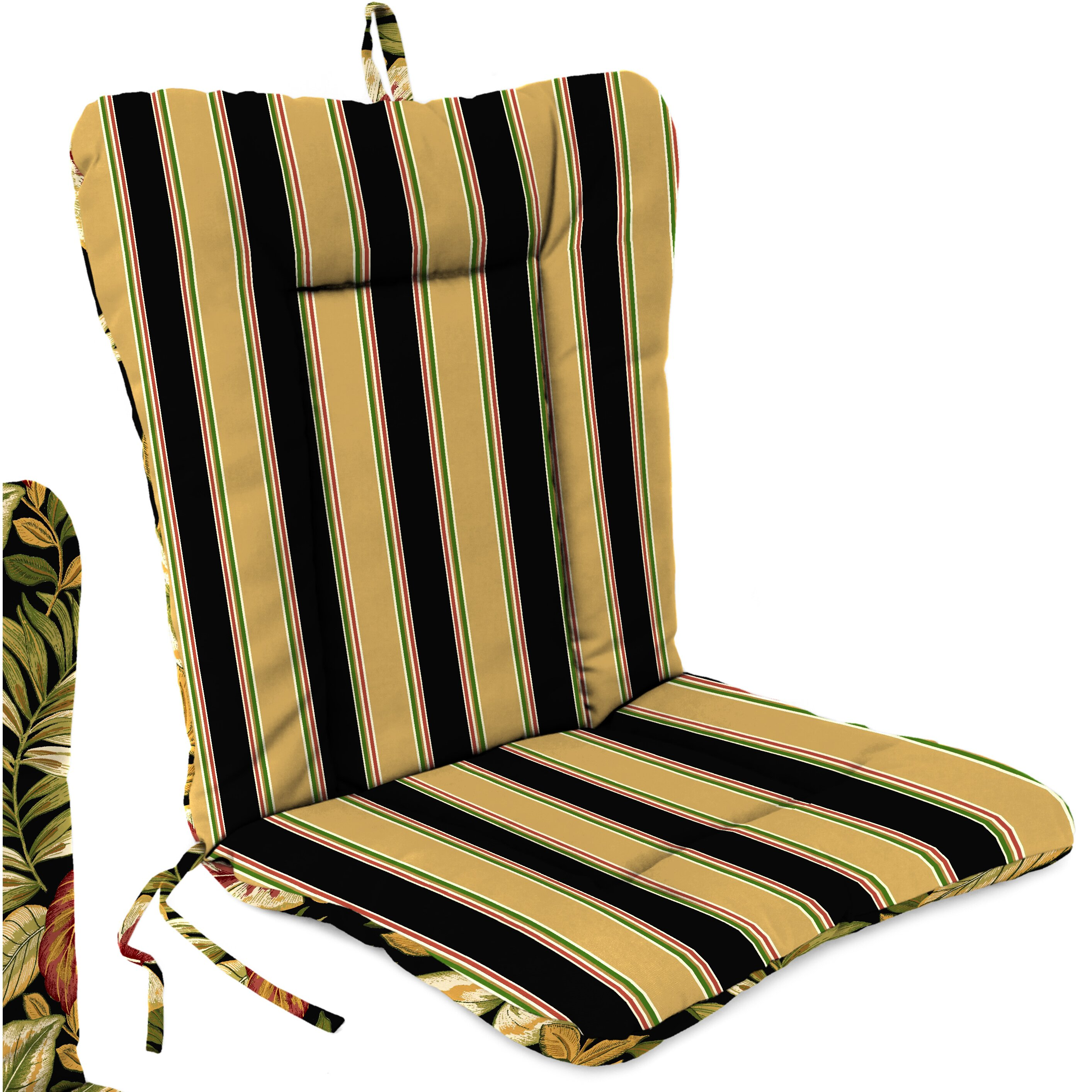 Jordan Manufacturing Outdoor Adirondack Chair Cushion