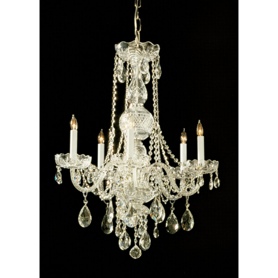 Traditional Crystal 6 Light Chandelier