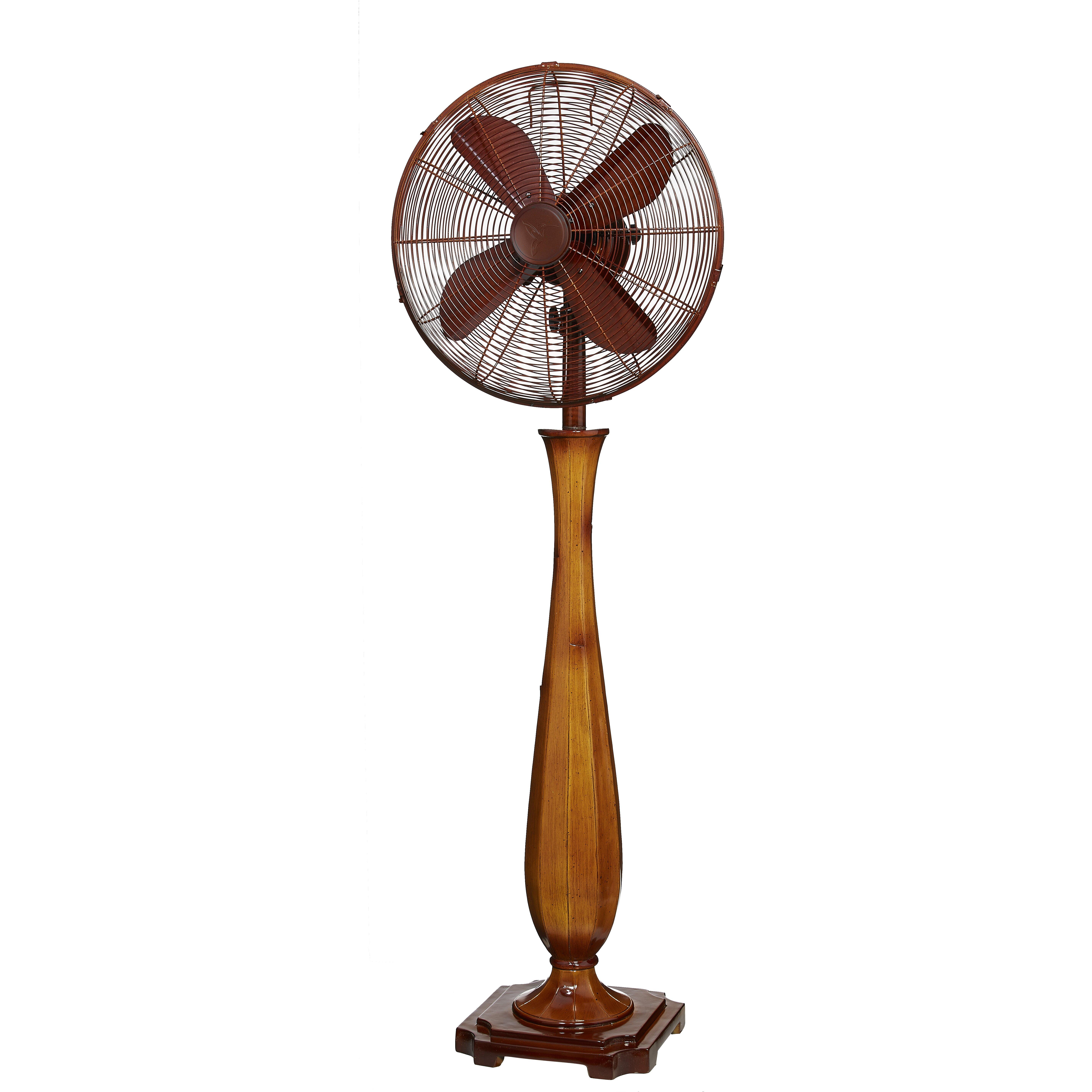 Deco Breeze Sambuca Oscillating Floor Fan & Reviews Wayfair #AA6F21